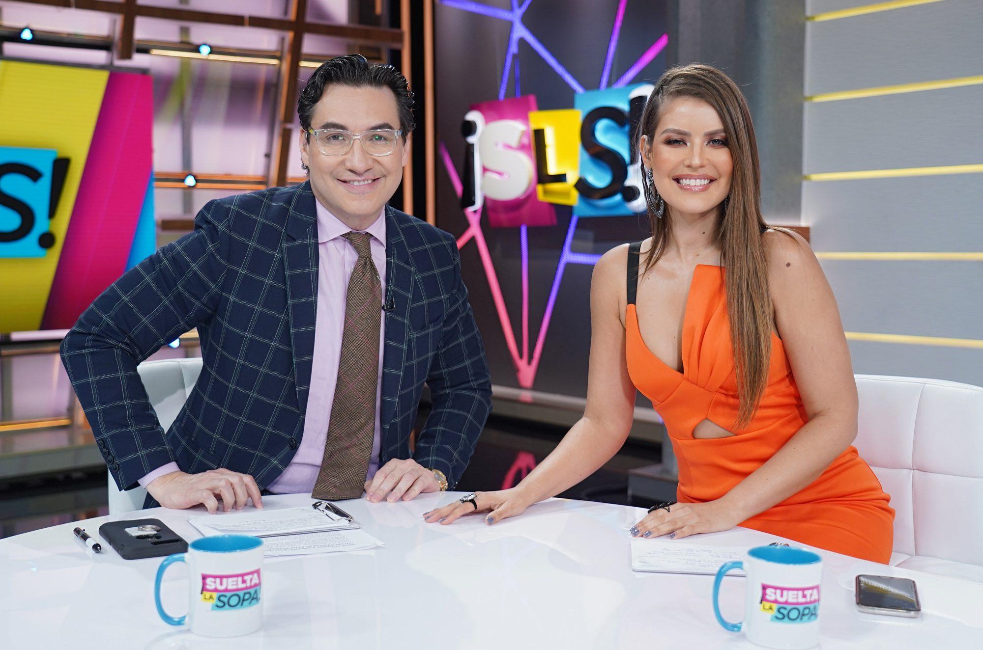 Luis Alfonso Borrego, Vanessa Claudio, Suelta la Sopa, Telemundo