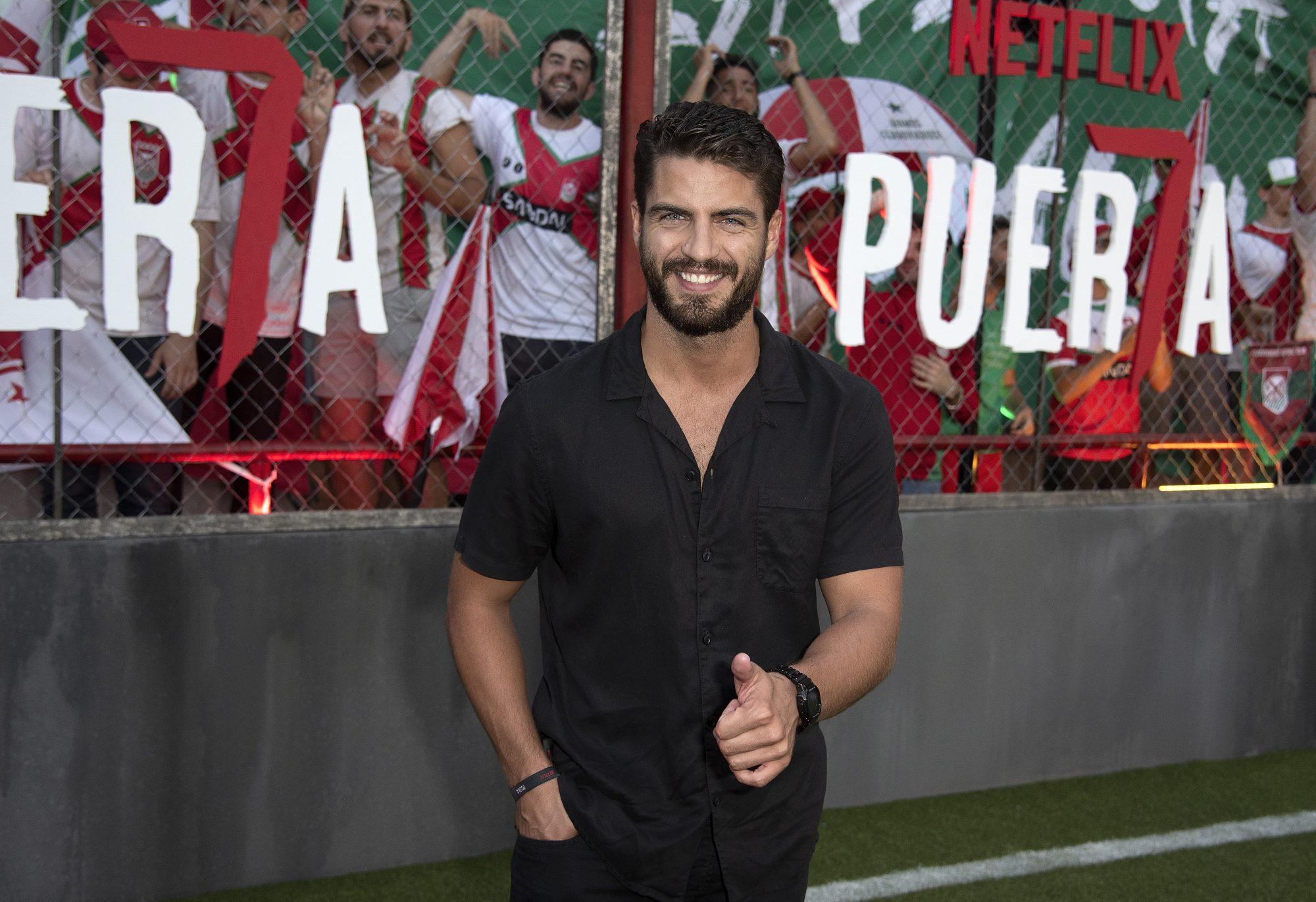 Maxi Iglesias premiere de la serie de Netflix Puerta 7, en Buenos Aires