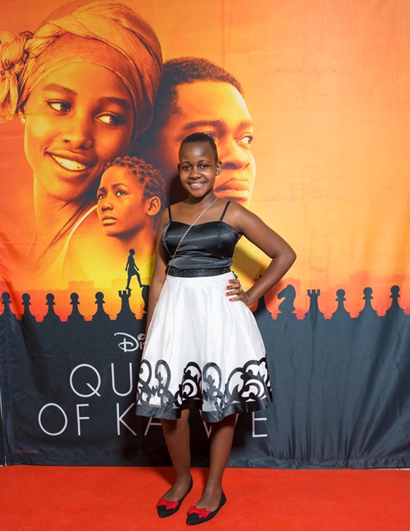 Nikita Waligwa Queen of Katwe Disney