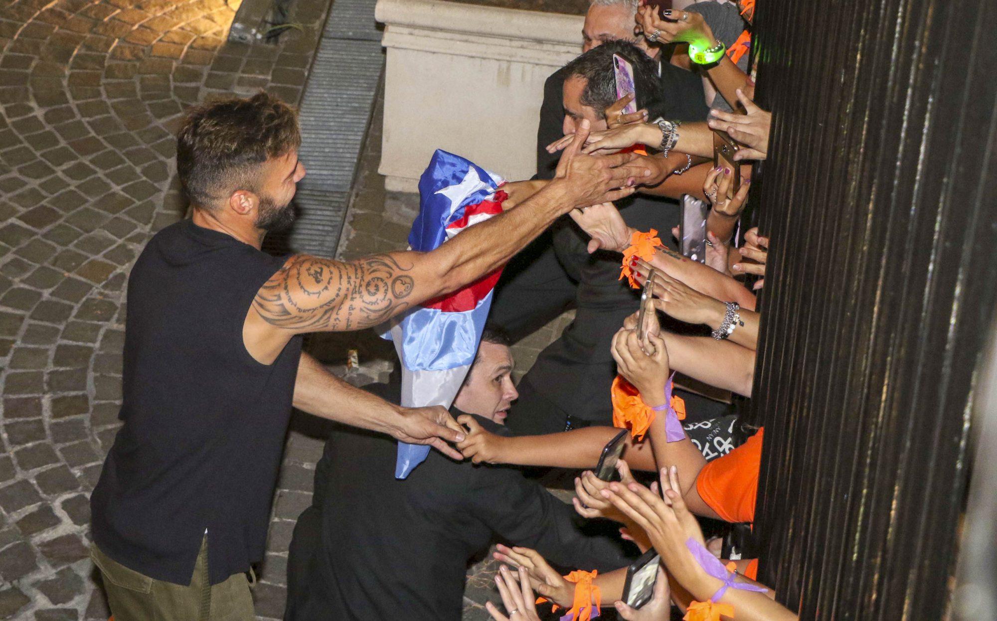Ricky Martin en Buenos Aires, Argentina