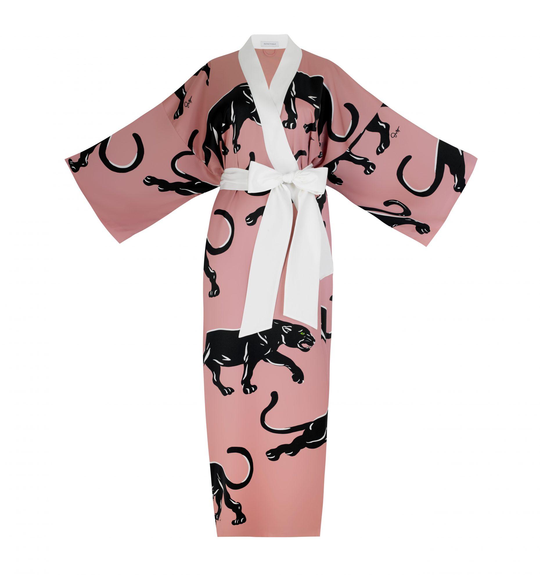 San Valentin regalos de lujo seda kimono