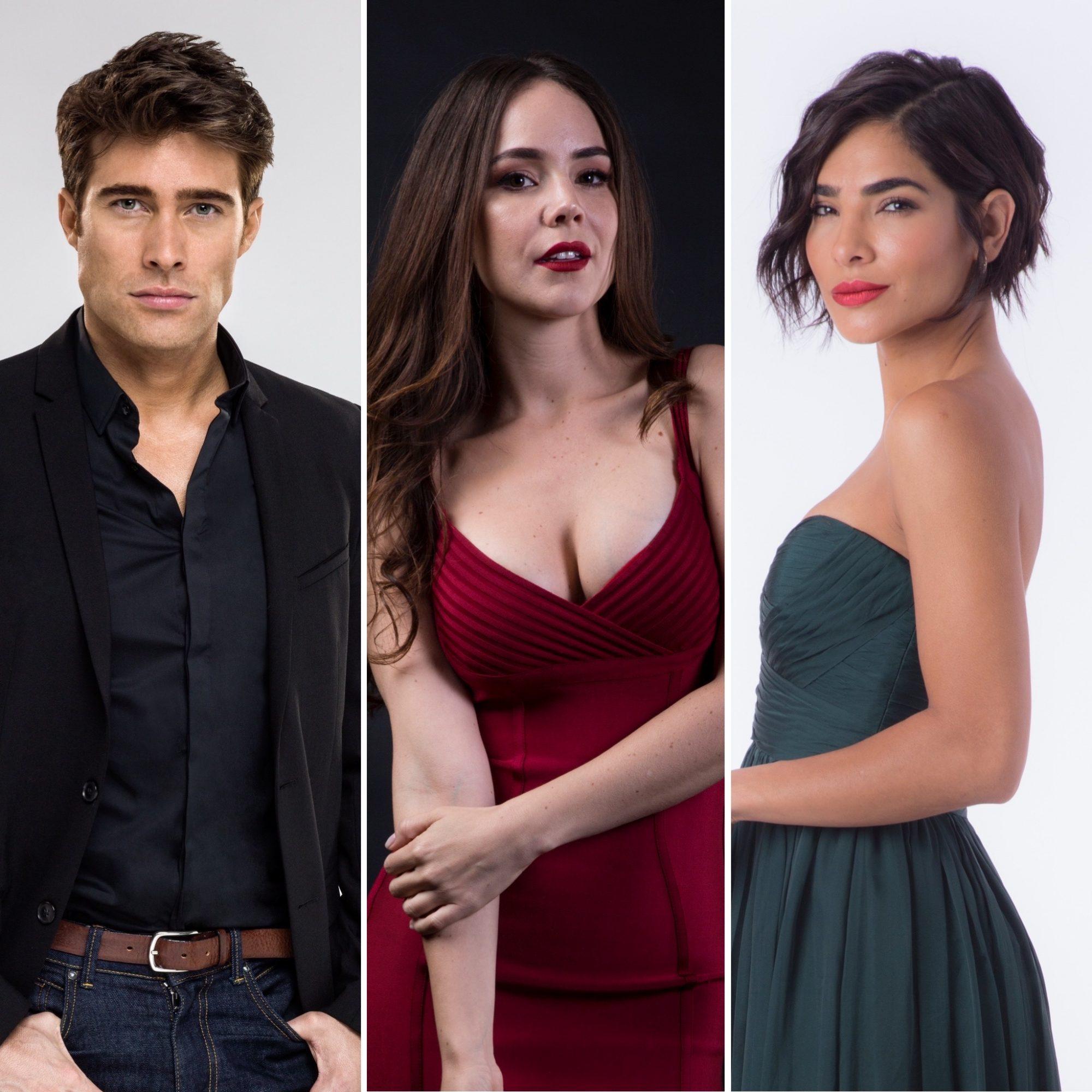 Rodrigo Guirao, Camila Sodi, Alejandra Espinoza