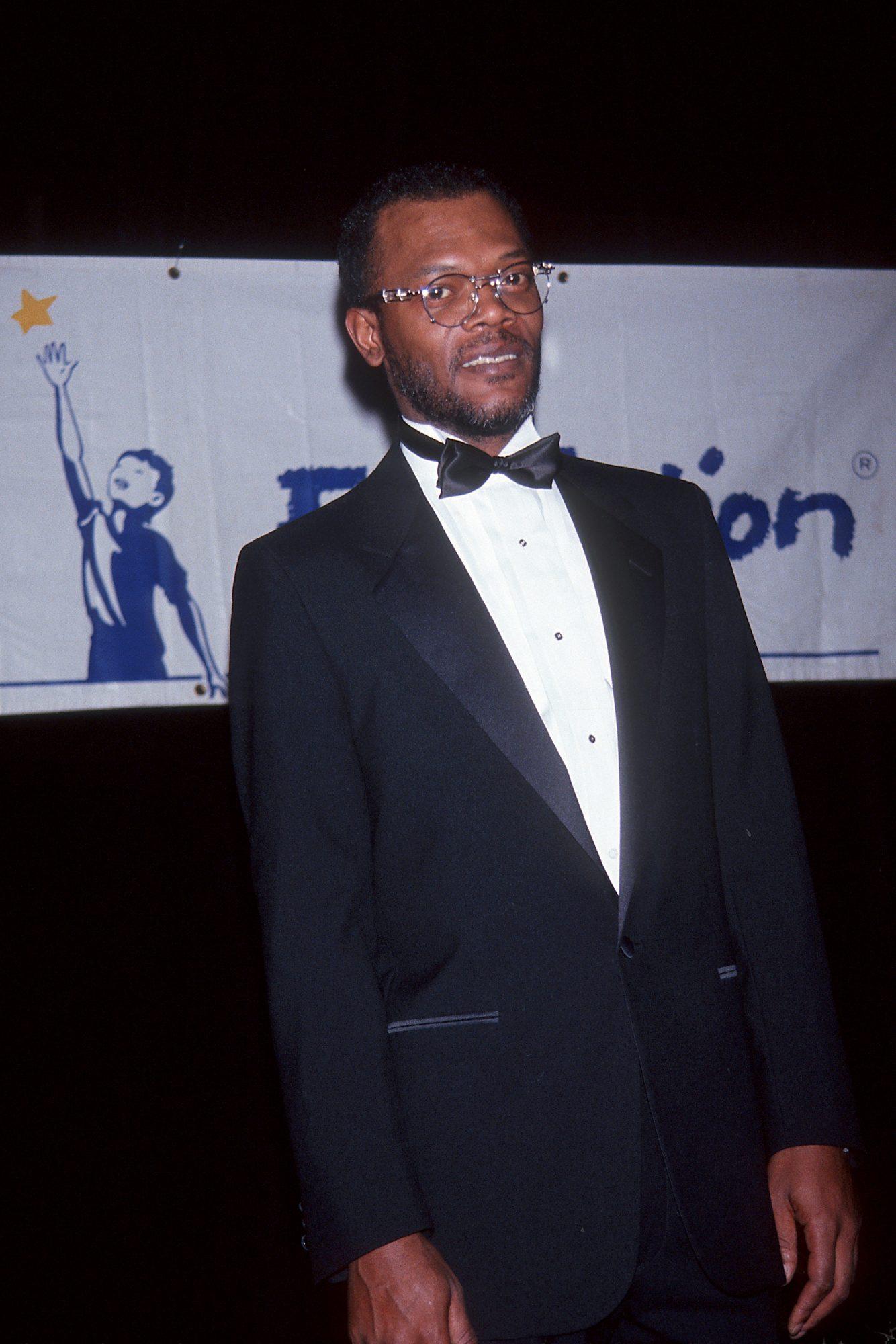 Samuel L. Jackson con pelo
