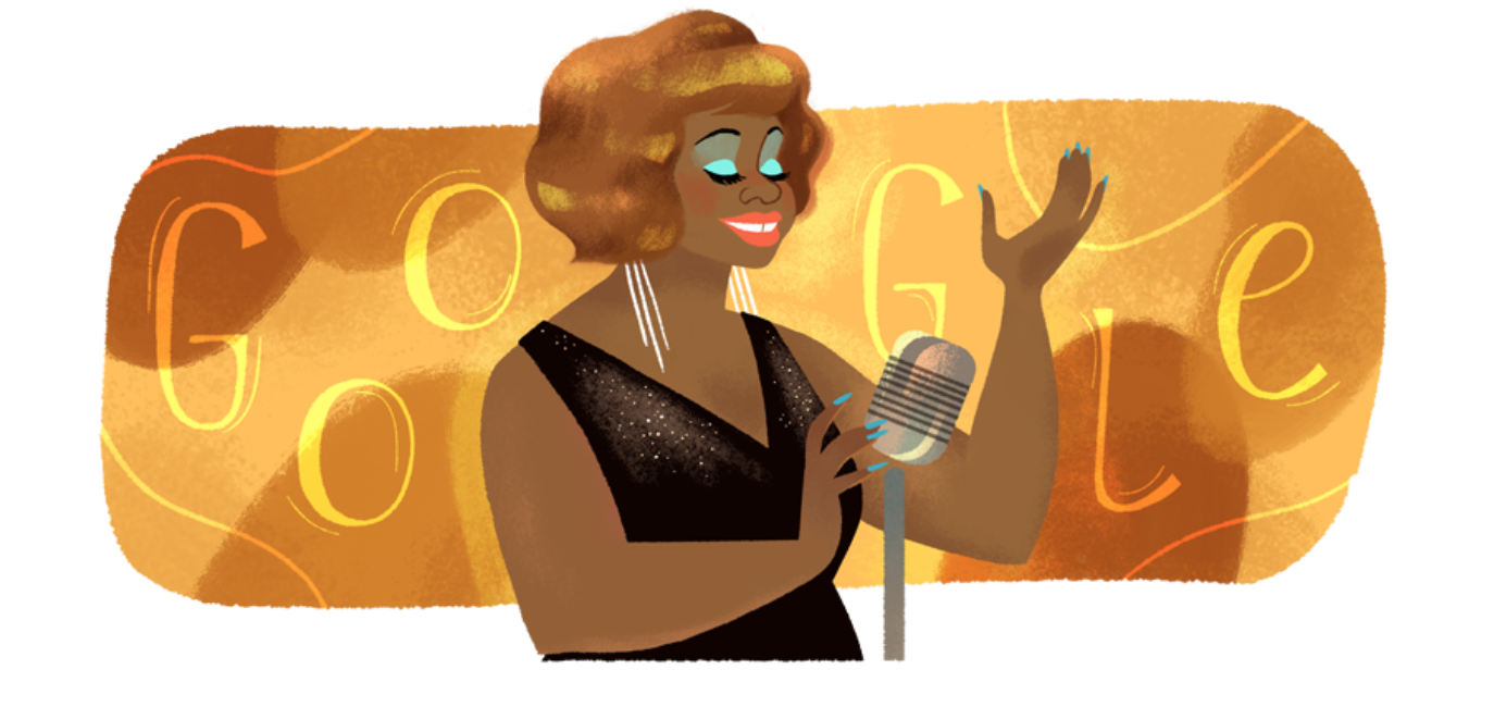 Lucha Reyes como un google doodle