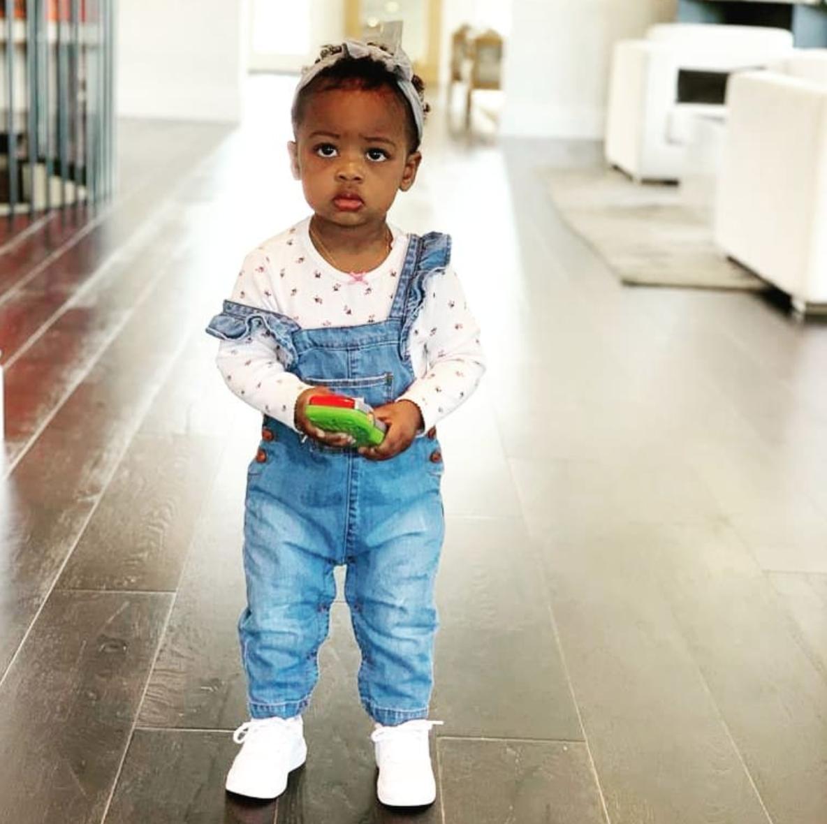 Kaavia James en su Instagram