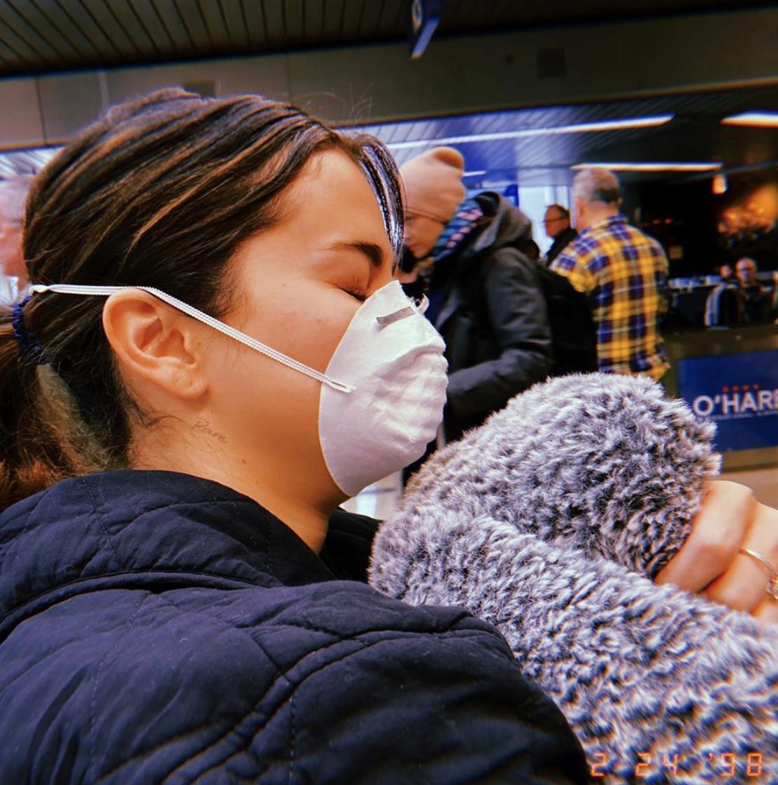 Selena Gómez contra Coronavirus