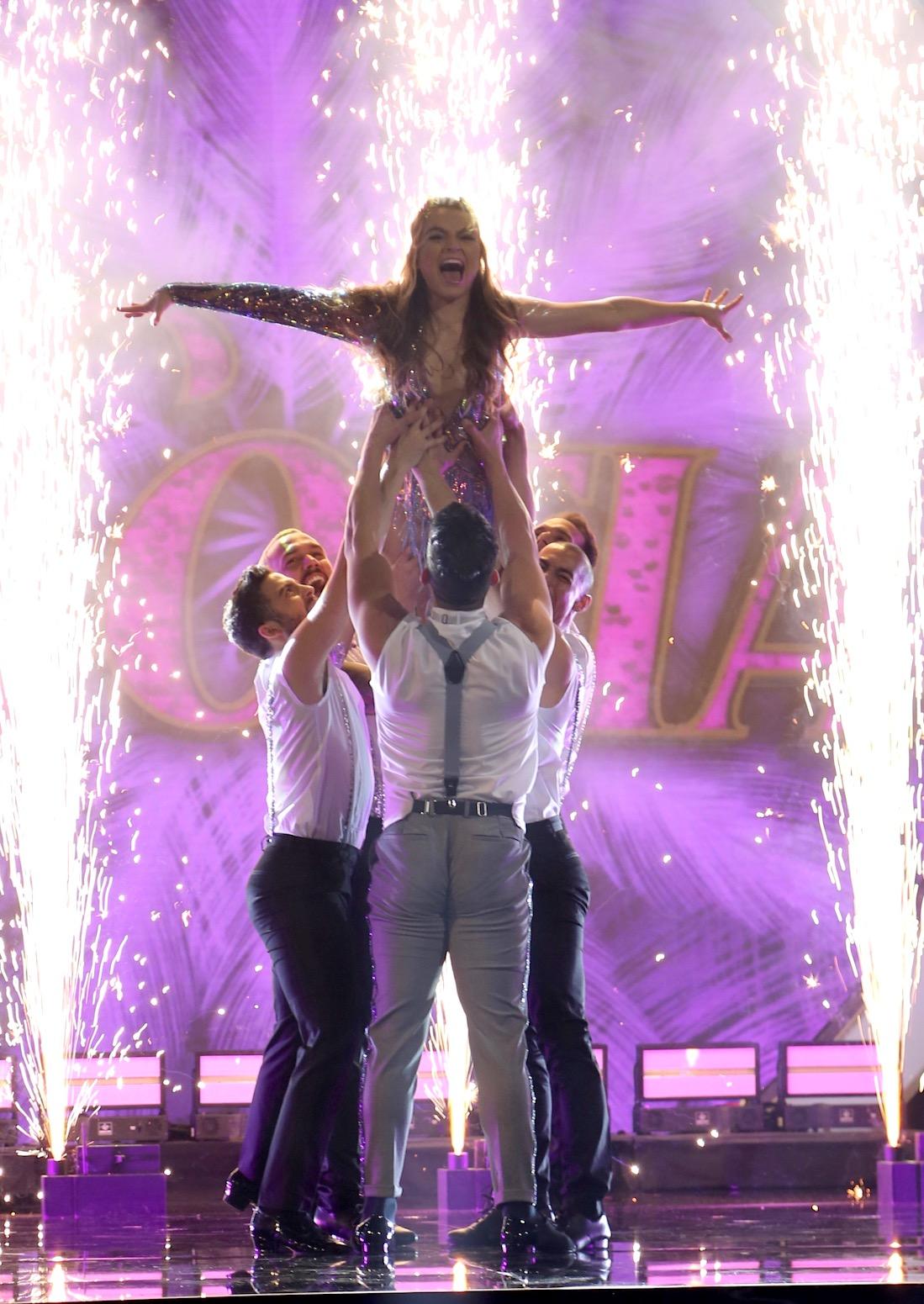 Sofía Castro en Mira quién baila
