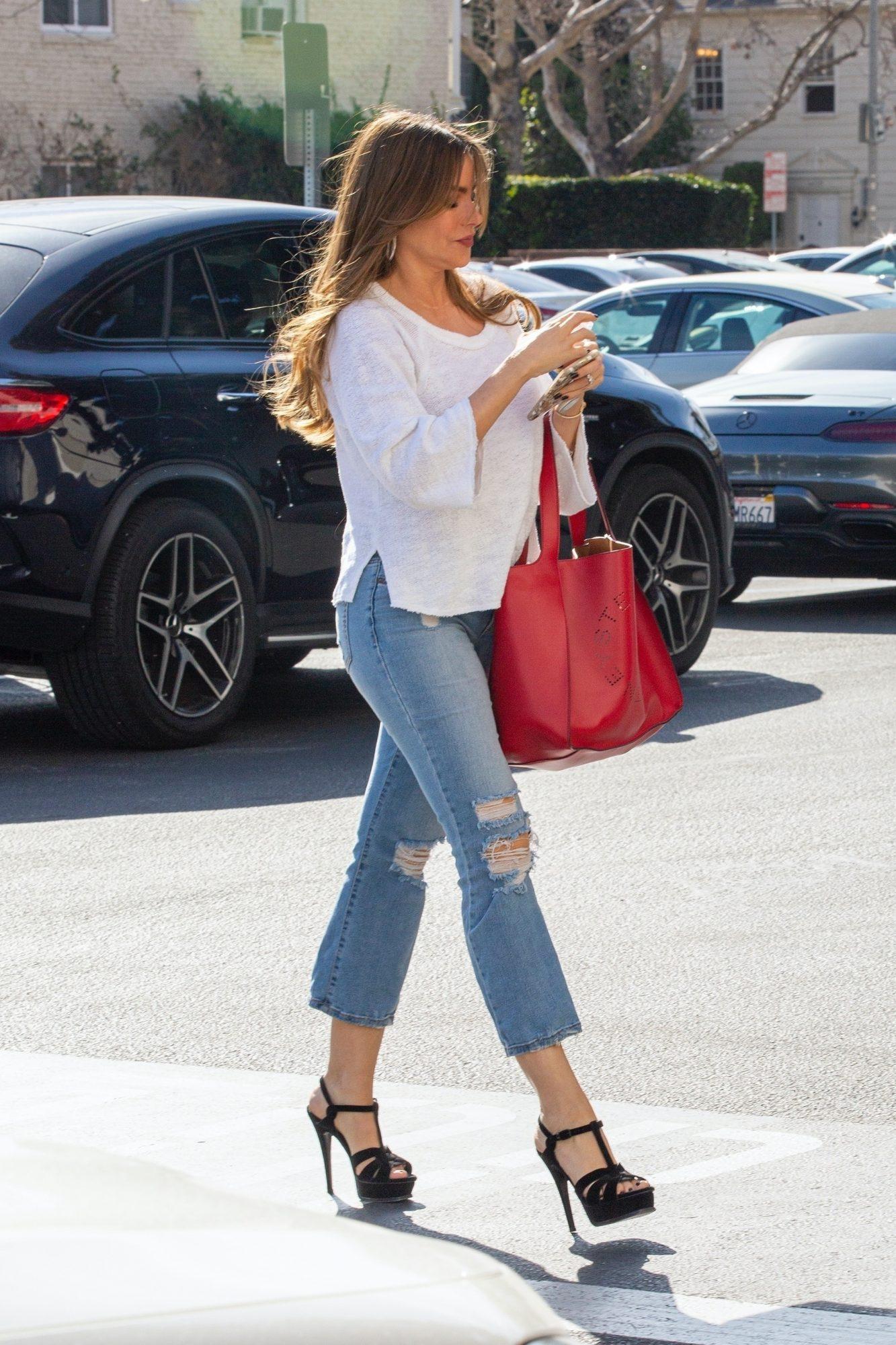 Sofia Vergara, looks, streetstyle