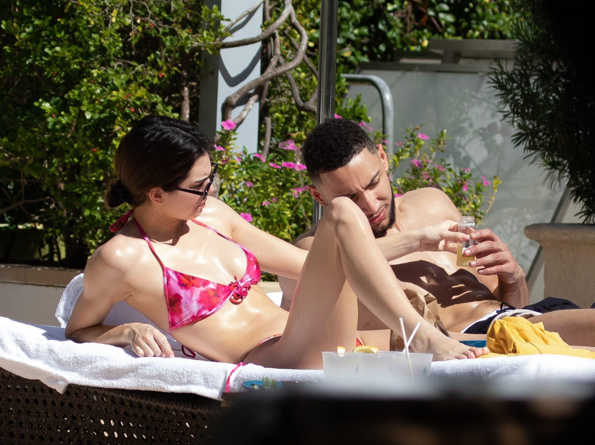 Kendall Jenner and her NBA star boyfriend Ben Simmons