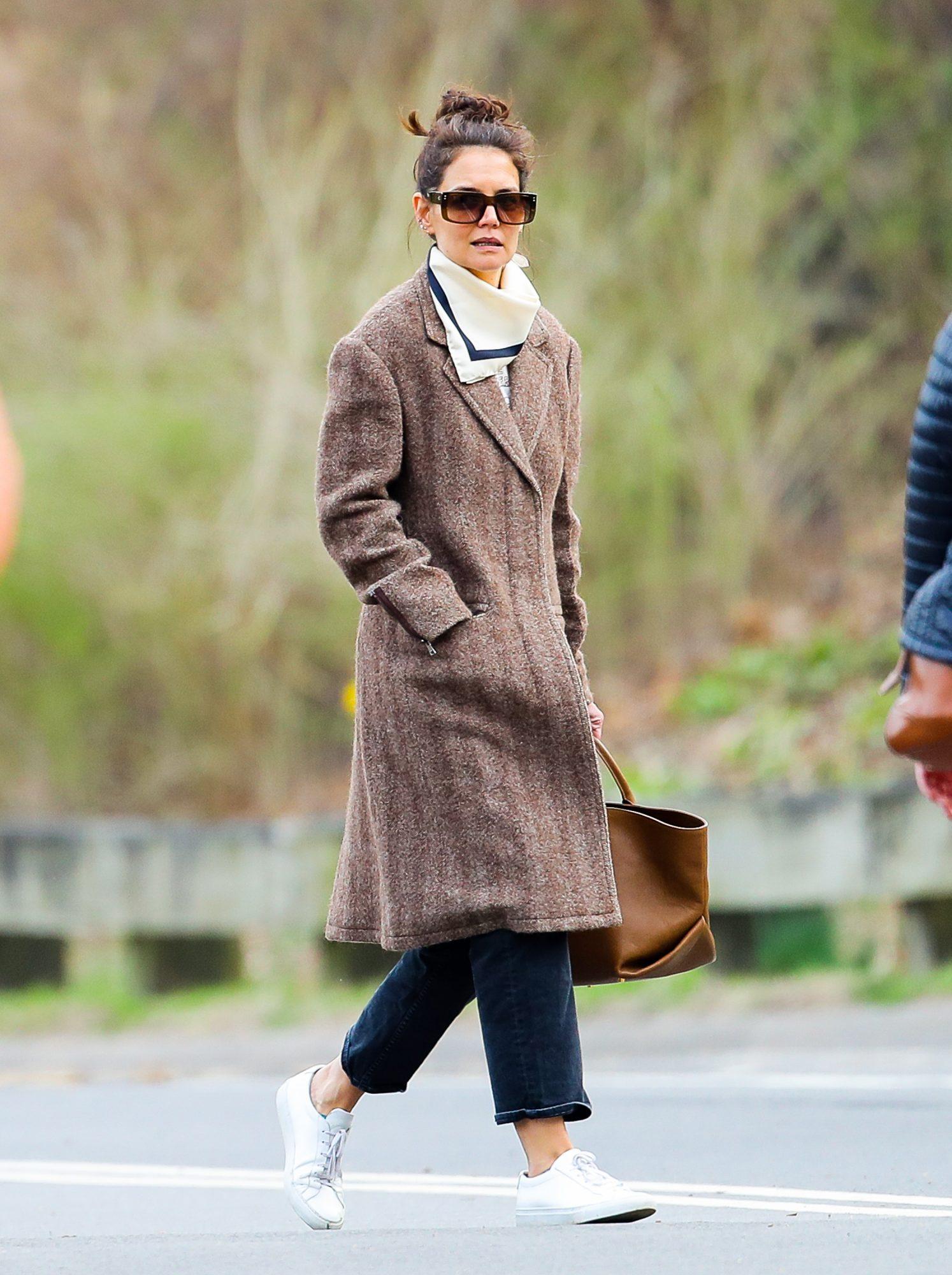 Katie Holmes, looks, new york