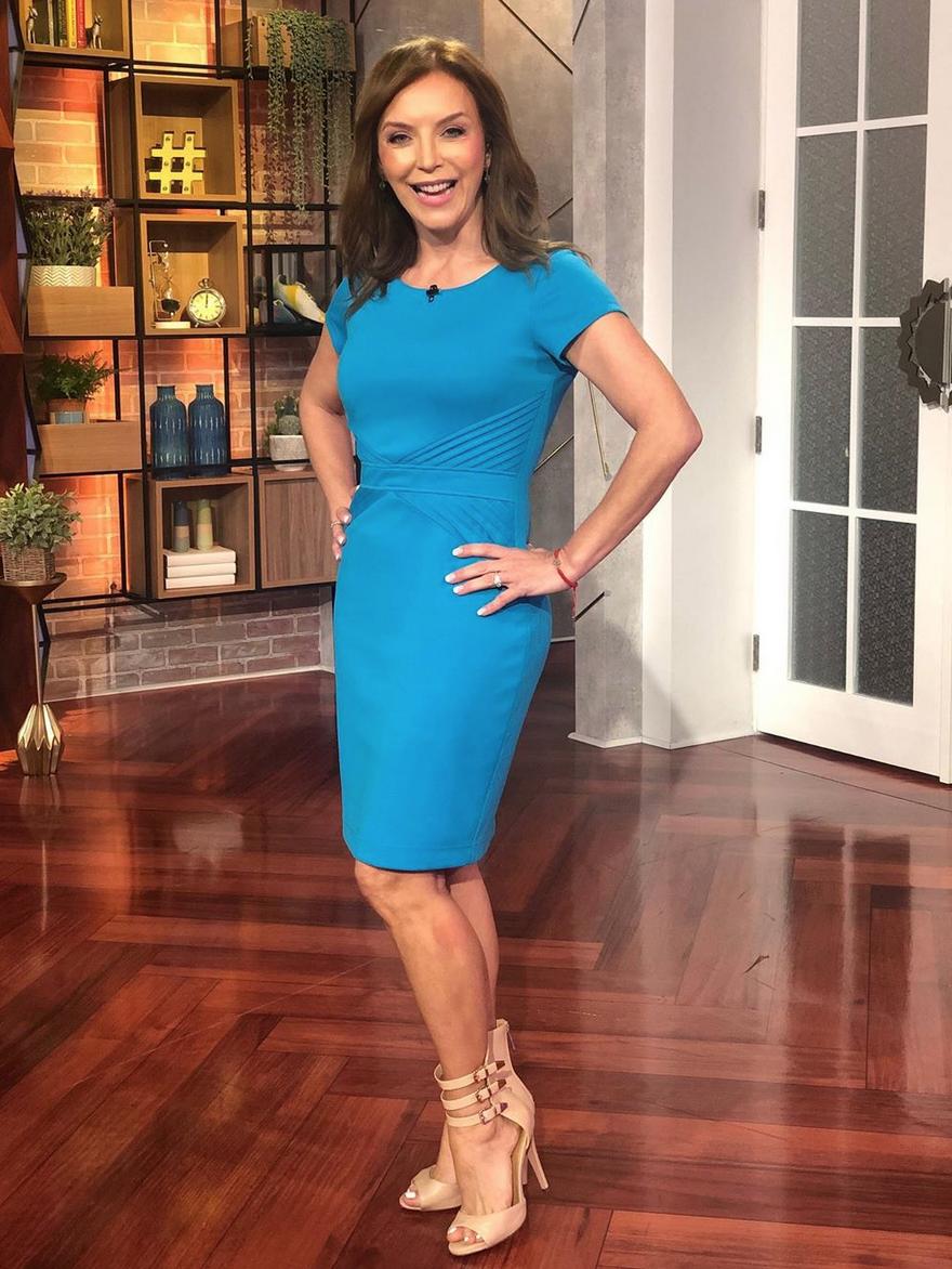 Laura Flores, looks, un nuevo dia, sexy, coronavirus
