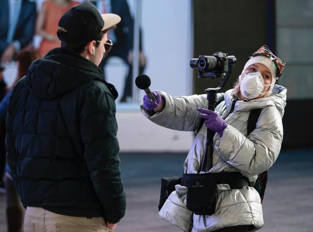 Reportero/ Coronavirus/ Times Square