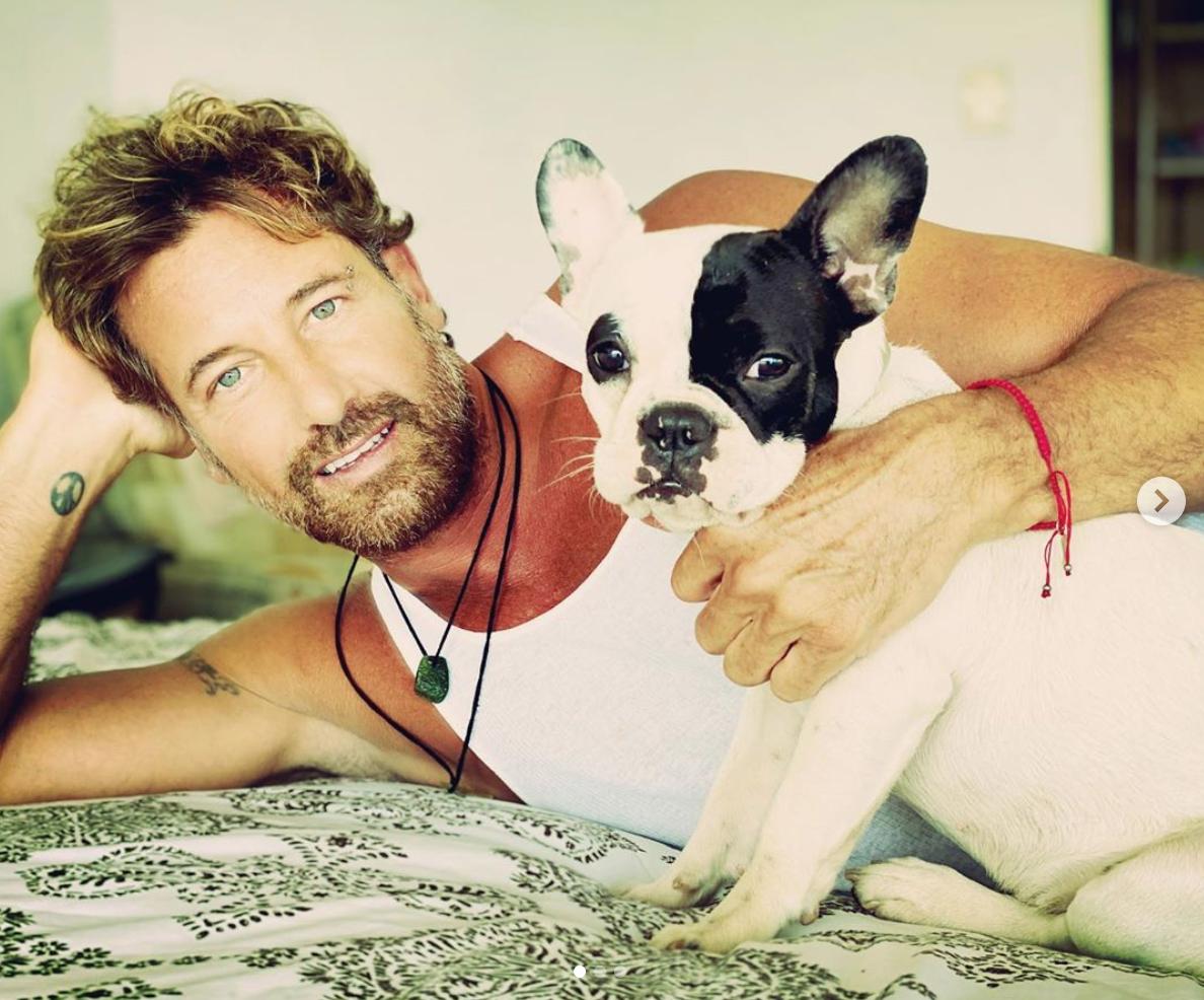 gabriel soto con su perro foto de instagram