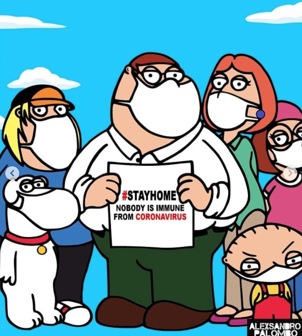 Famosos como personajes de Simpson que combaten el coronavirus