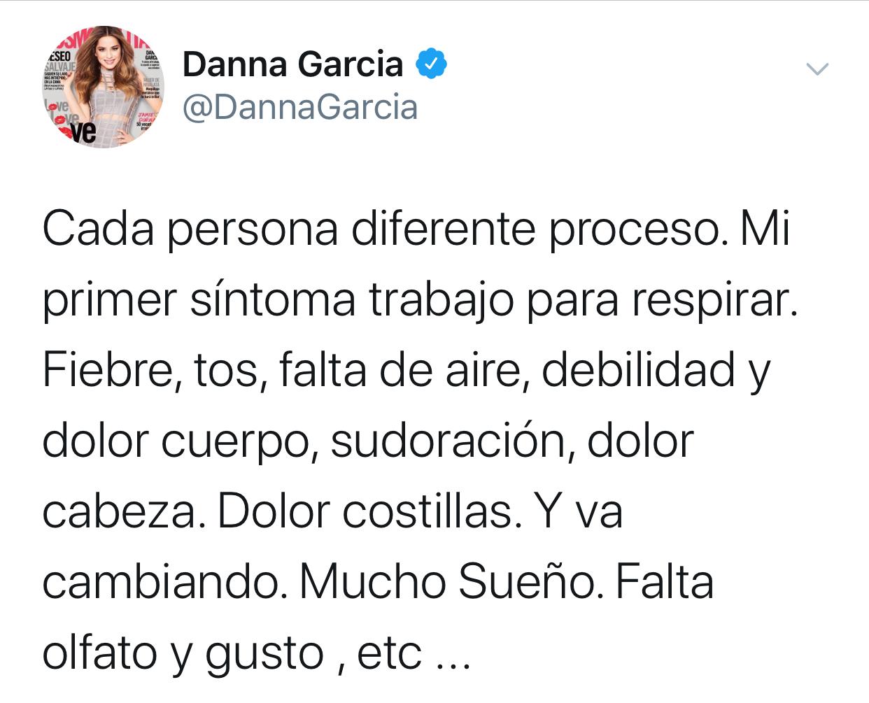 Danna García Twitter
