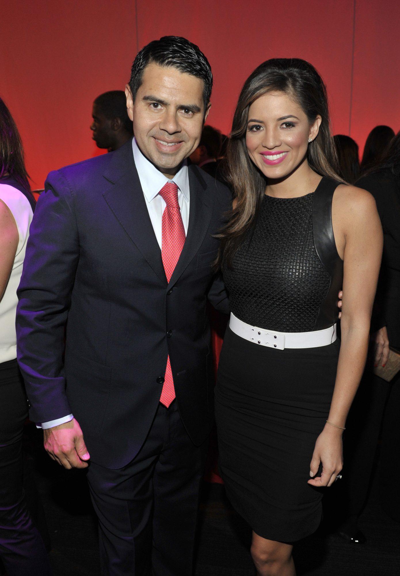 Cesar Conde and Pamela Silva Conde