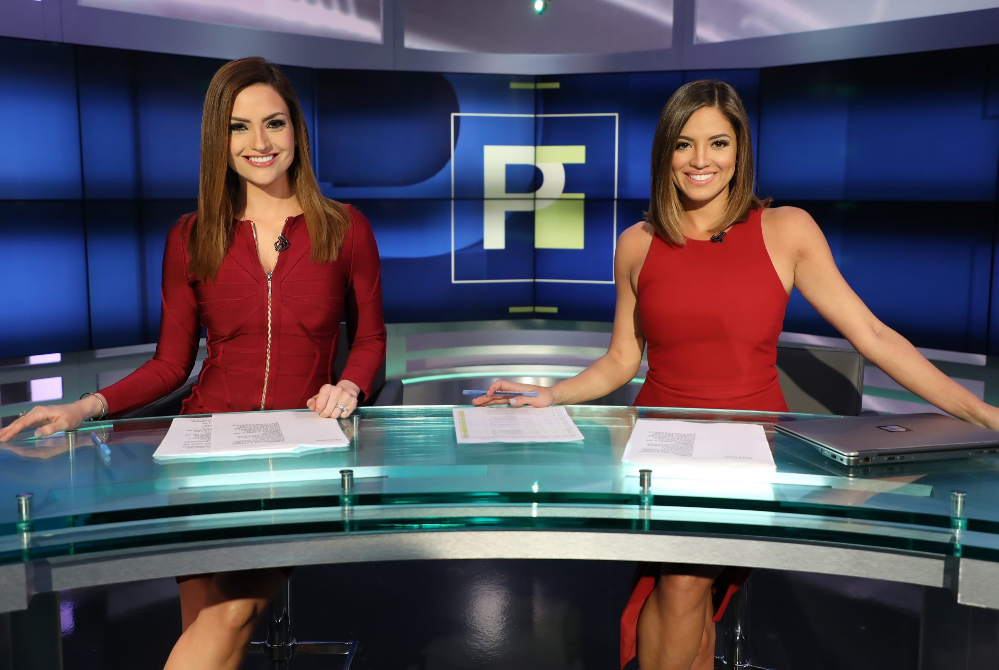 Michelle Galvan y Pamela Silva Conde