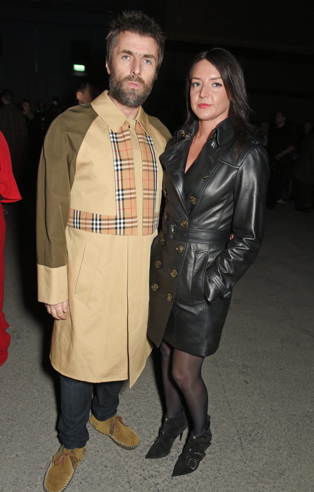 Liam Gallagher y Debbie Gwyther