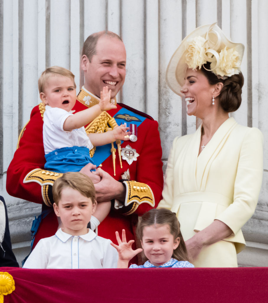 William Kate Louis Charlotte