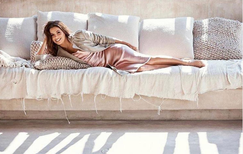 Eva Longoria, pijamas, coronavirus