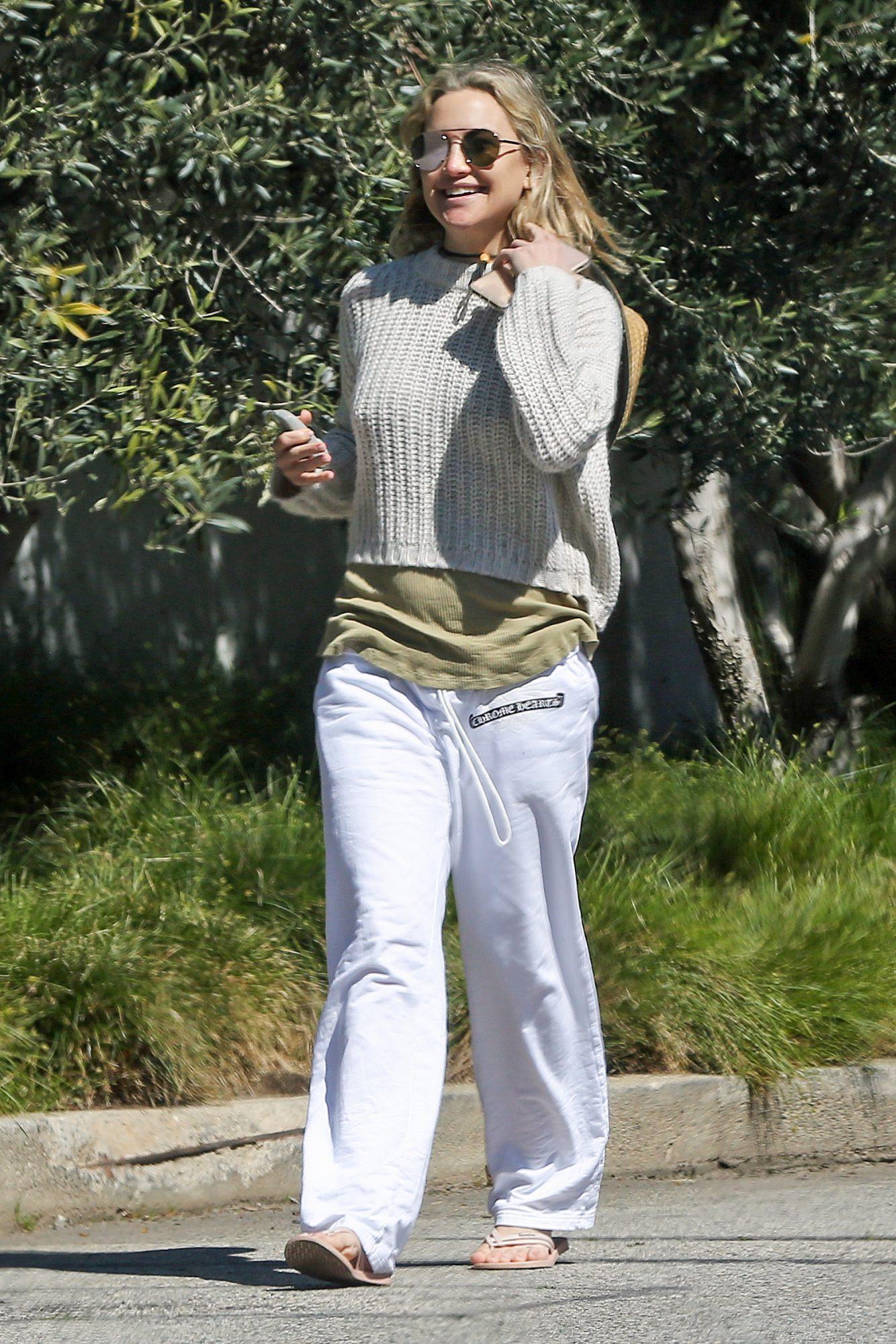 Kate Hudson, cuarentena, pacific palisades