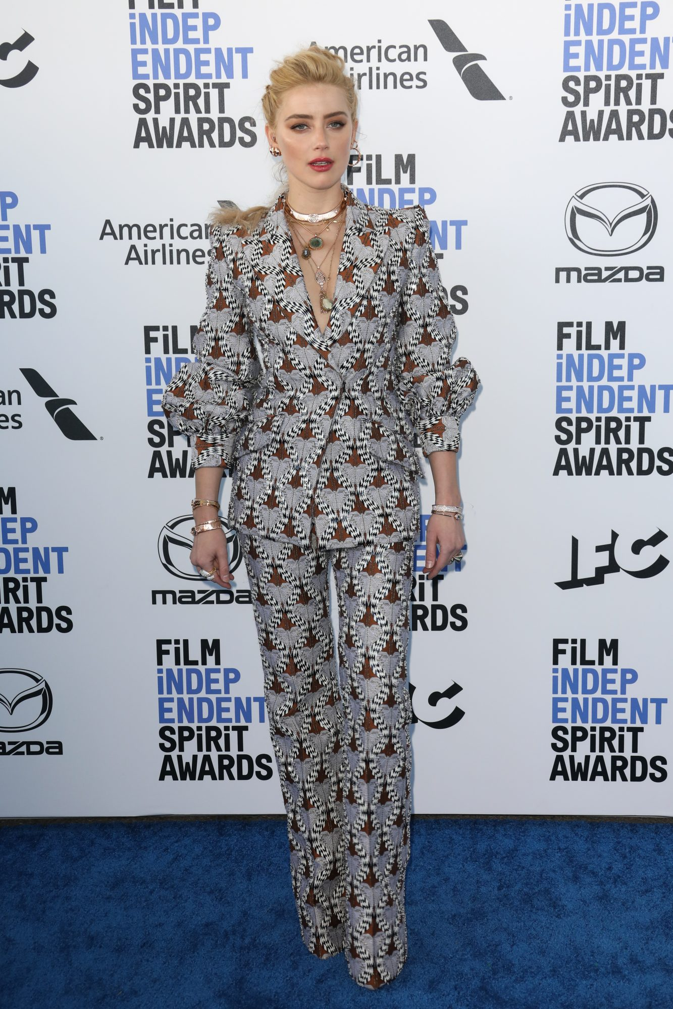 Amber Heard, looks, Santa Monica, CA