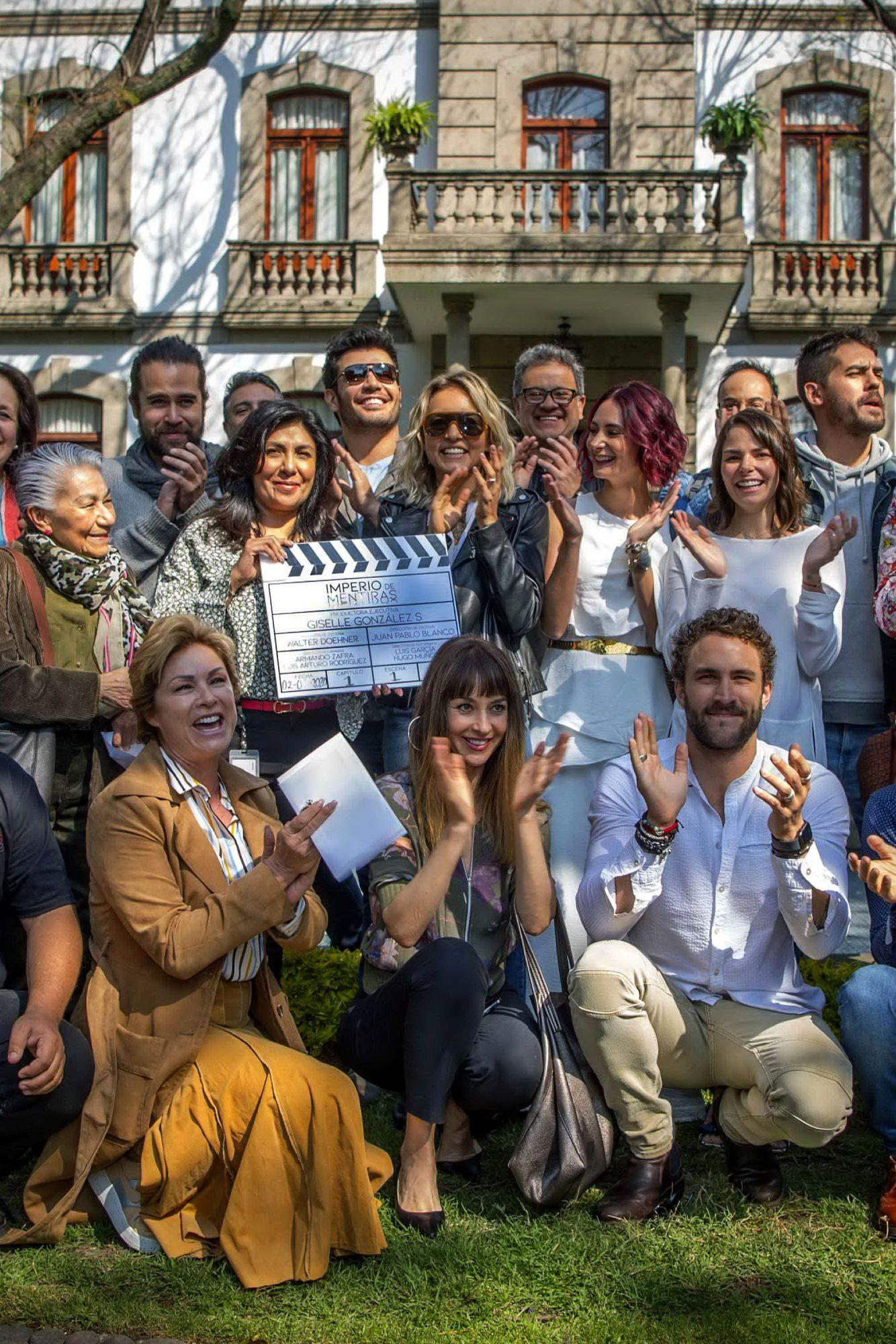 """Angelique Boyer protagoniza junto a un gran elenco la telenovela """"El Imperio De Mentiras"""""""