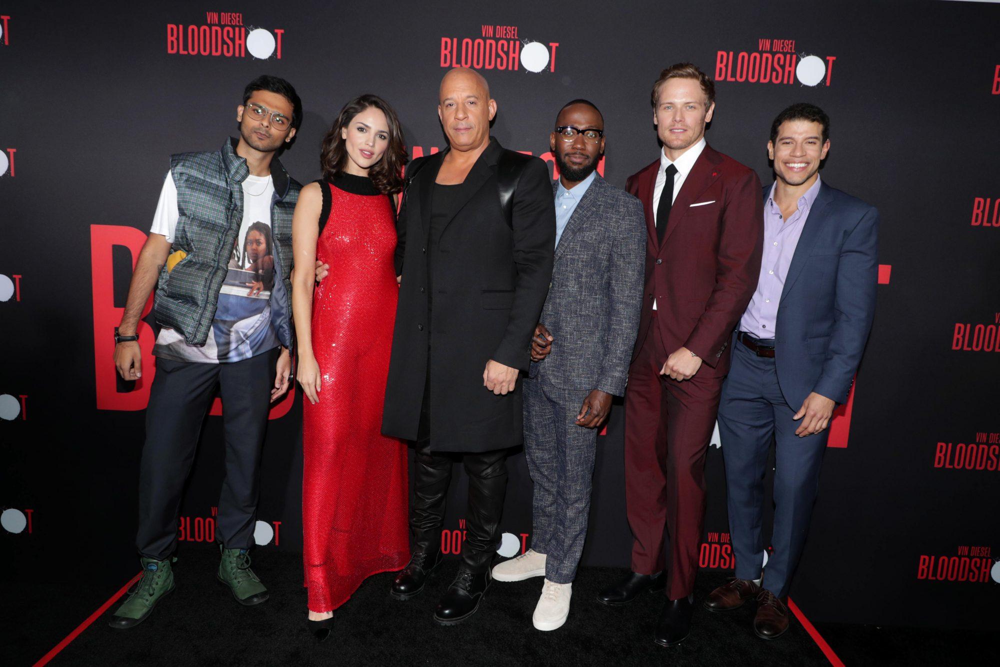 El elenco de Bloodshot