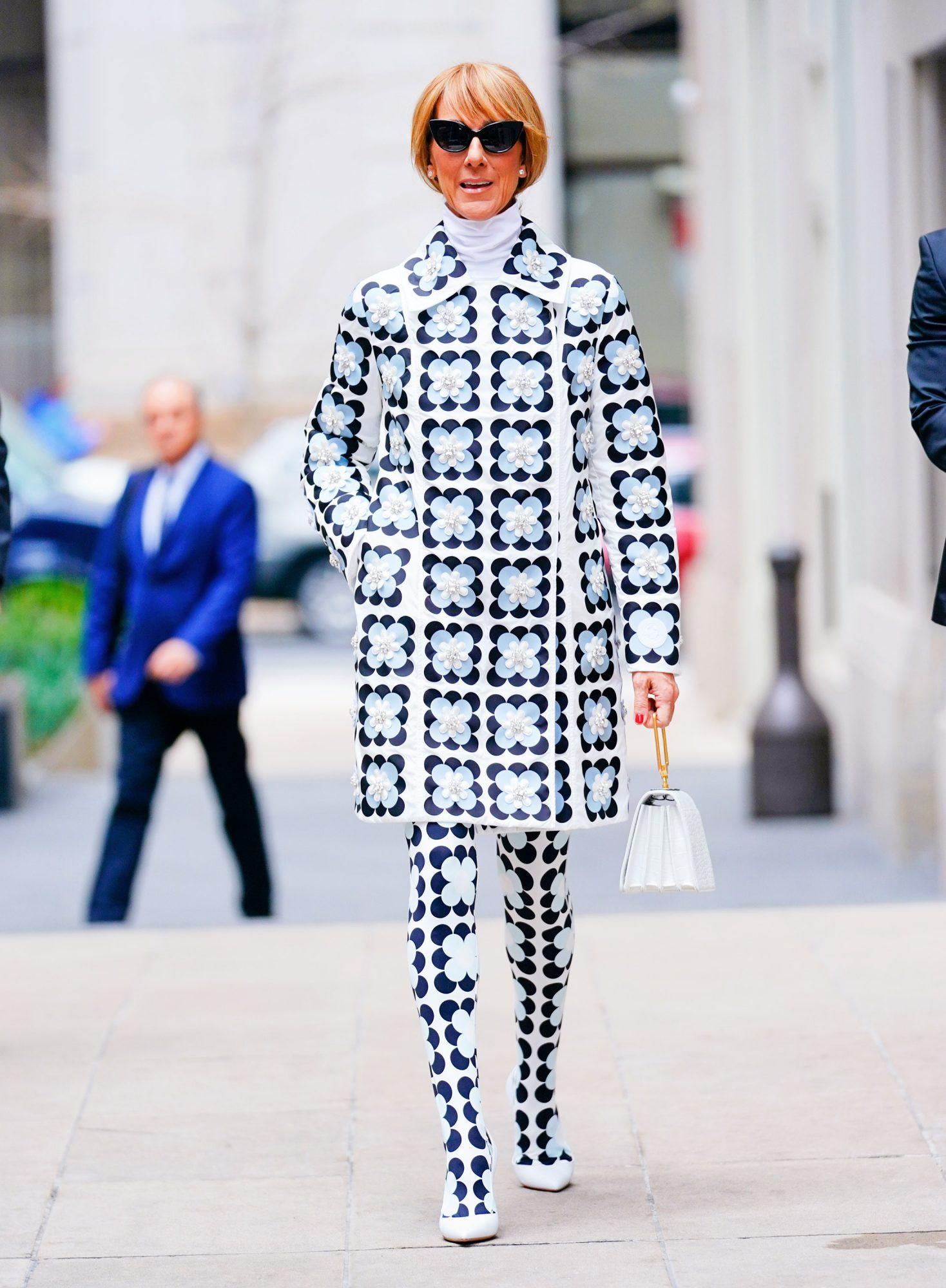 Celine Dion, looks, Semana de la moda de Paris