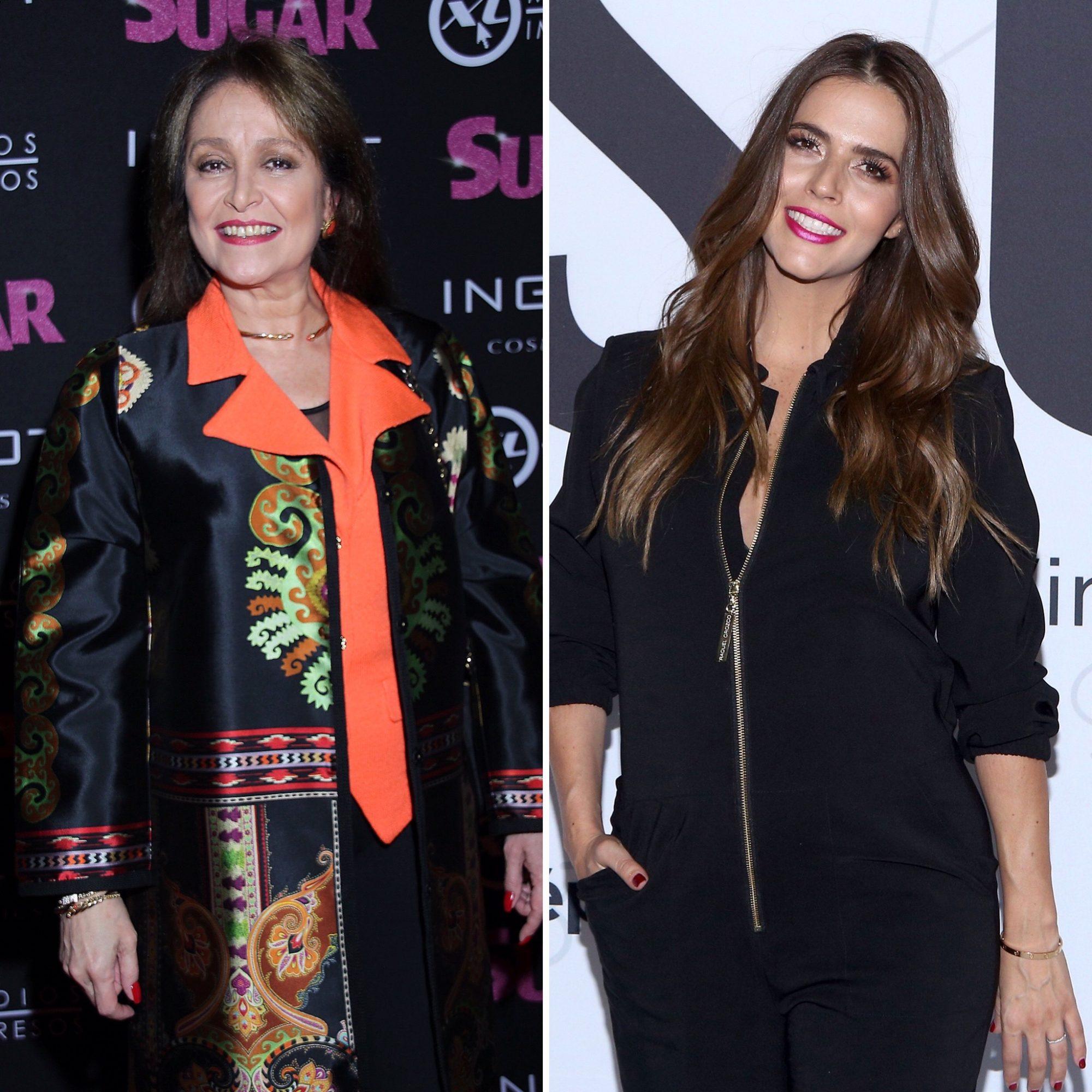 Daniela Romo y Claudia Álvarez