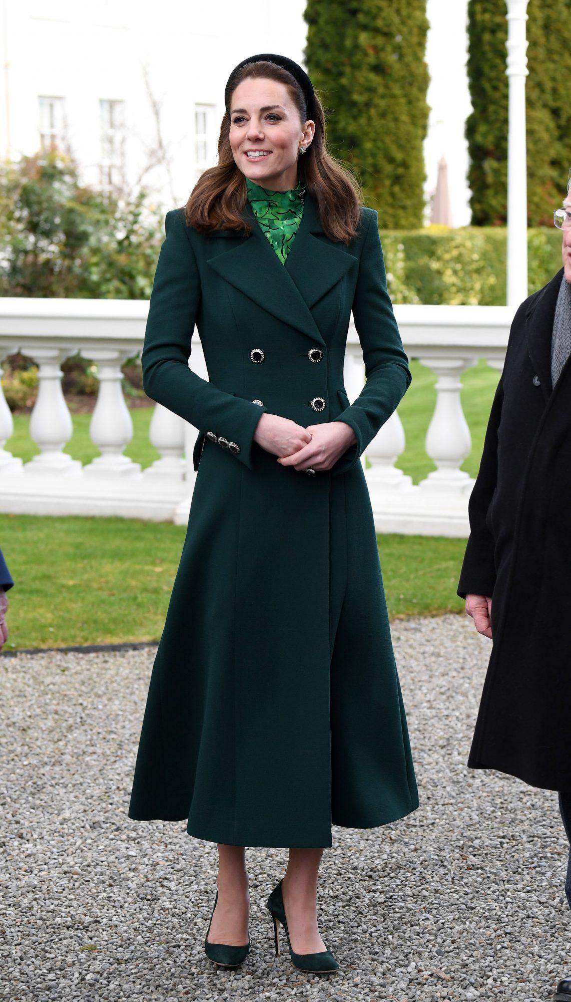 Kate Middleton, looks, vestido verde, irlanda