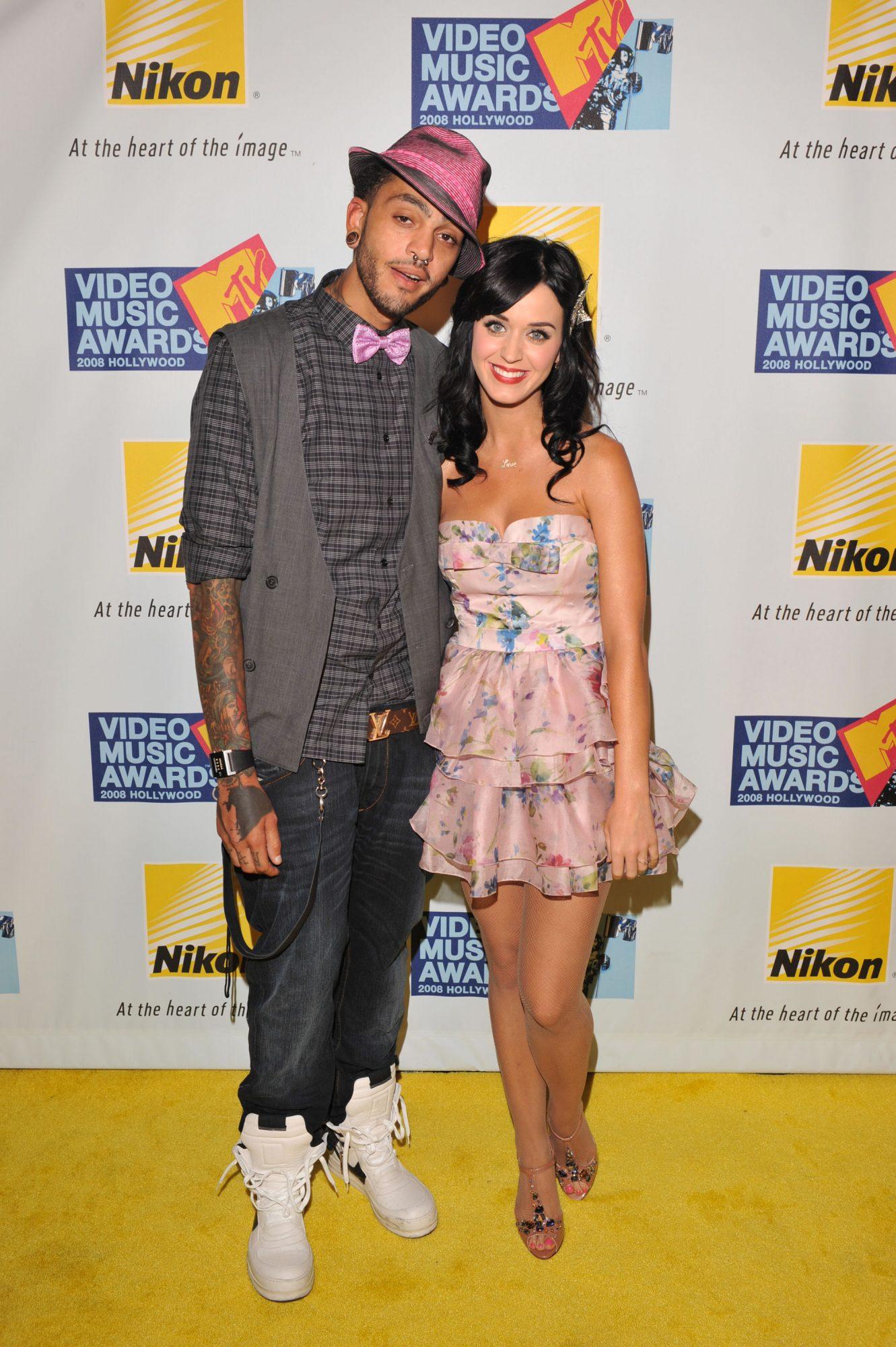 Travis McCoy y Katy Perry