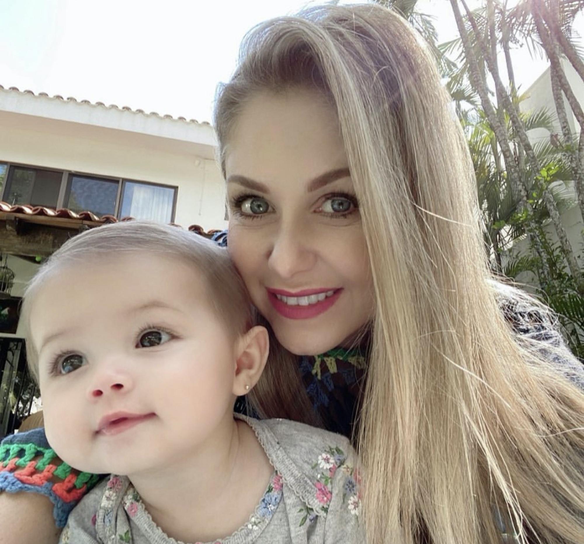 Ingrid y su hija