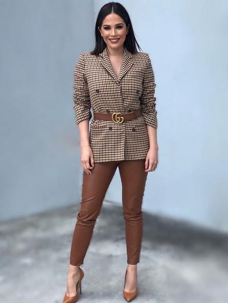 Karla Martinez, looks, Despierta America