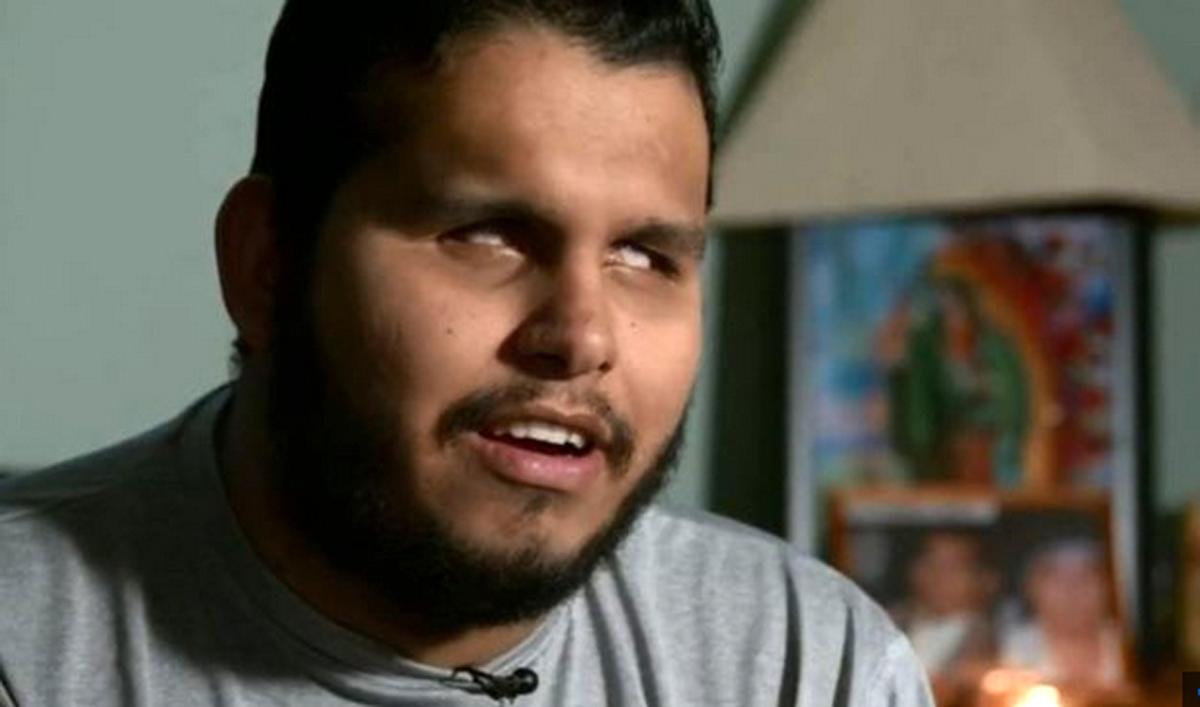 Luis Delgado Inmigrante Ciego