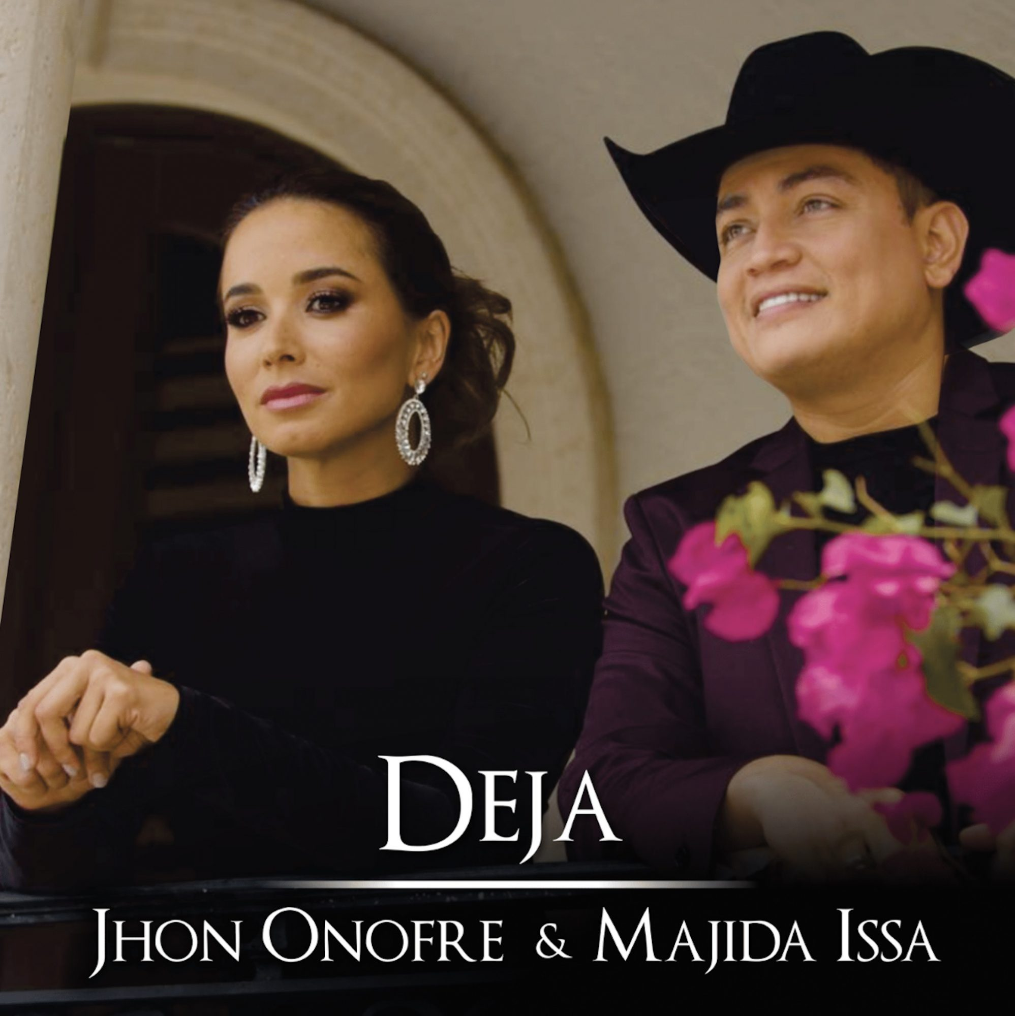 Majida Issa y Jhon Onofre