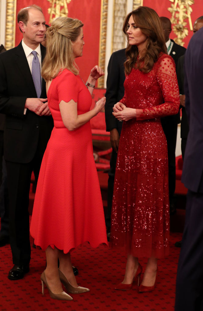 príncipe Eduardo Sophie de Wessex Kate Middleton