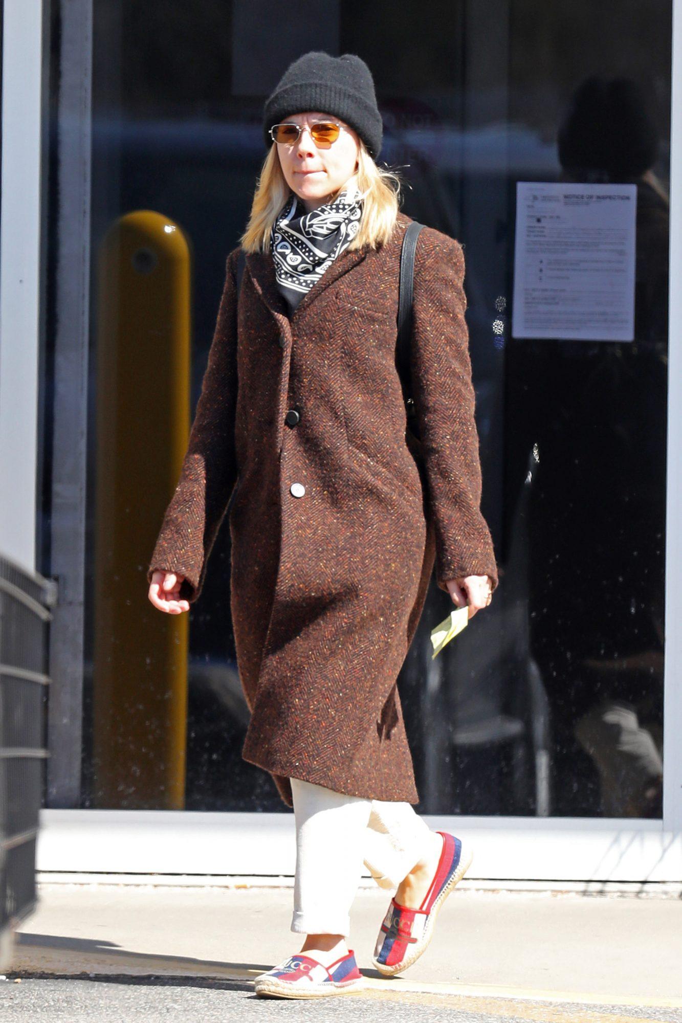 Scarlett Johannson, looks, new york
