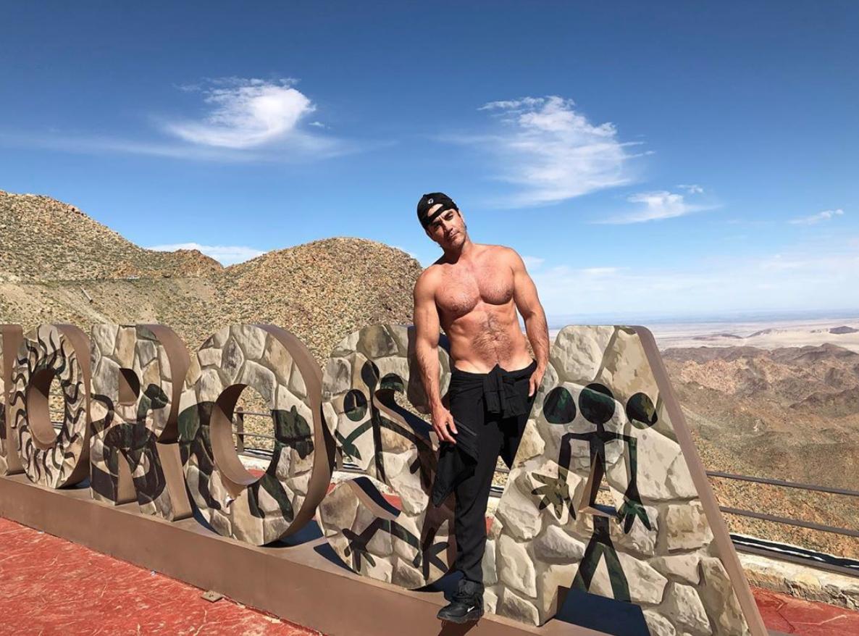 David Zepeda en Baja California