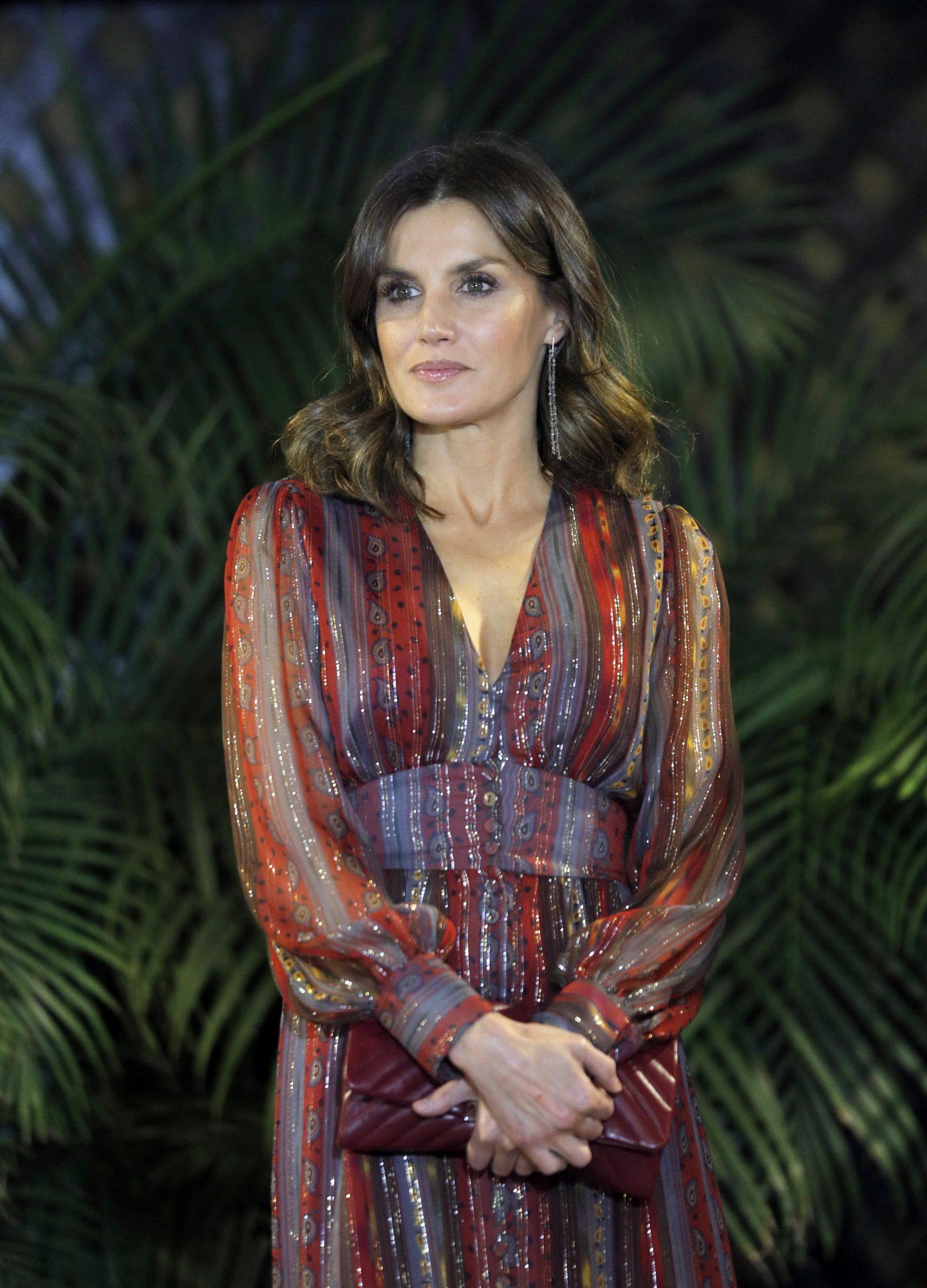 reina Letizia, estilo, vestido