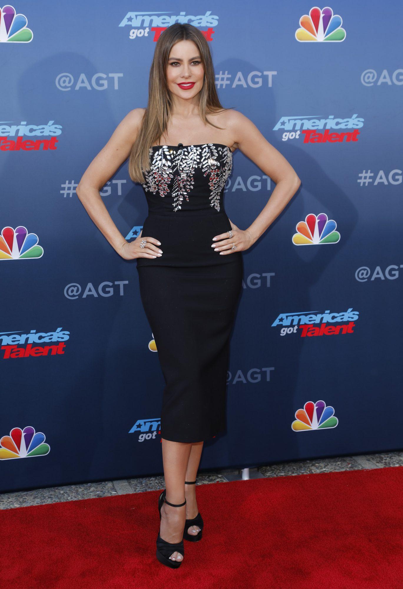 Sofia Vergara, premier, america's got talent, look, pasadena, caifornia