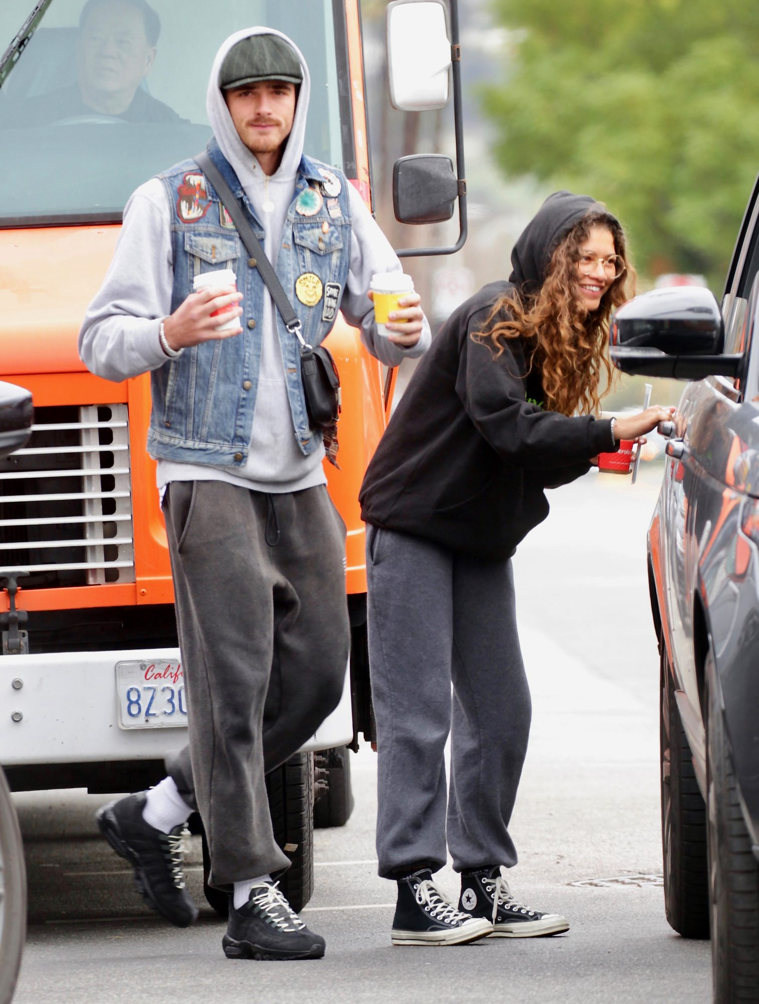 Zendaya and Jacob Elordi step out in Los Angeles.