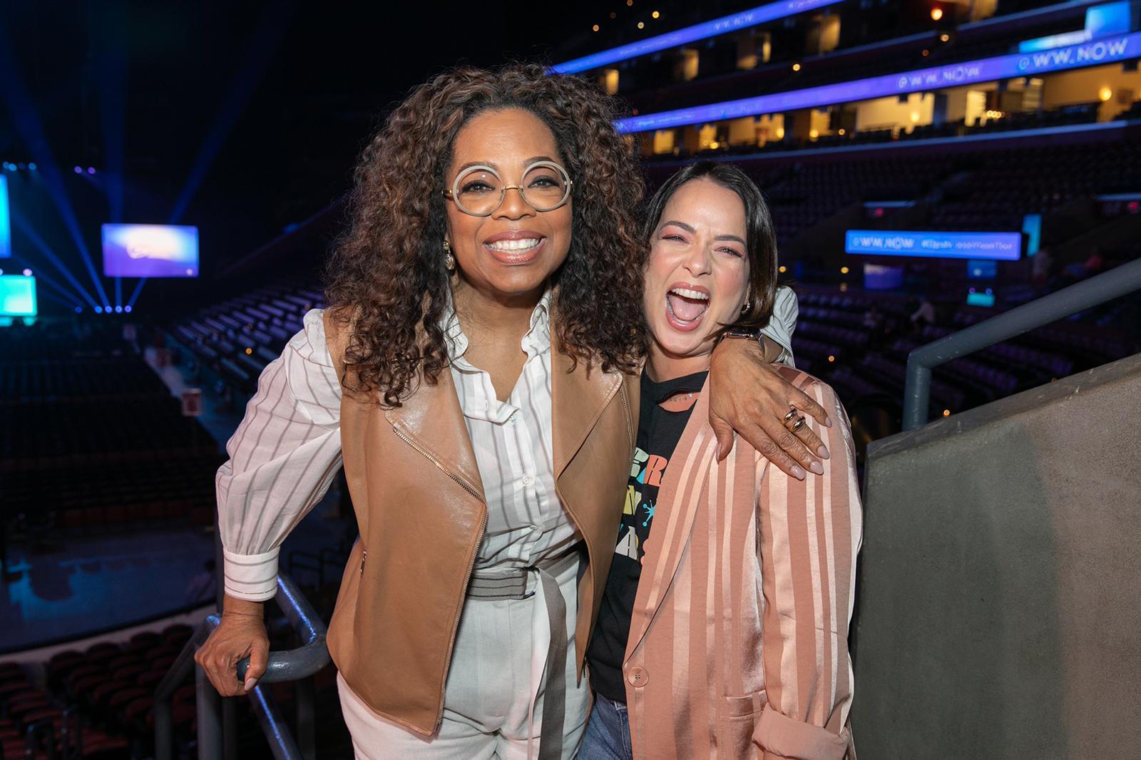 Oprah Winfrey y Adamari López