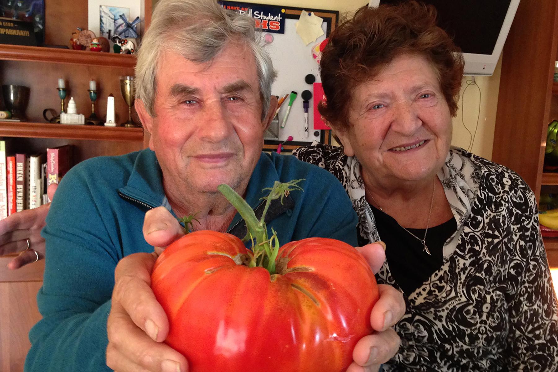 Feliks Ogorodnik and wife Luiza