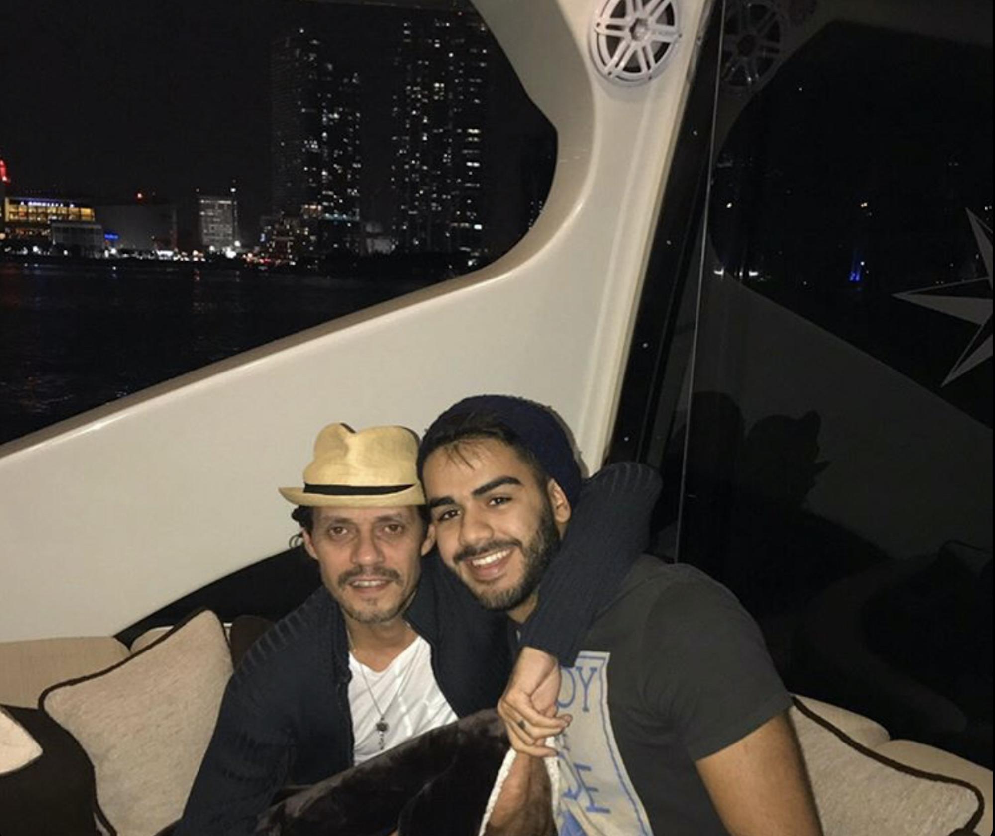 Carlos Adyan y Marc Anthony