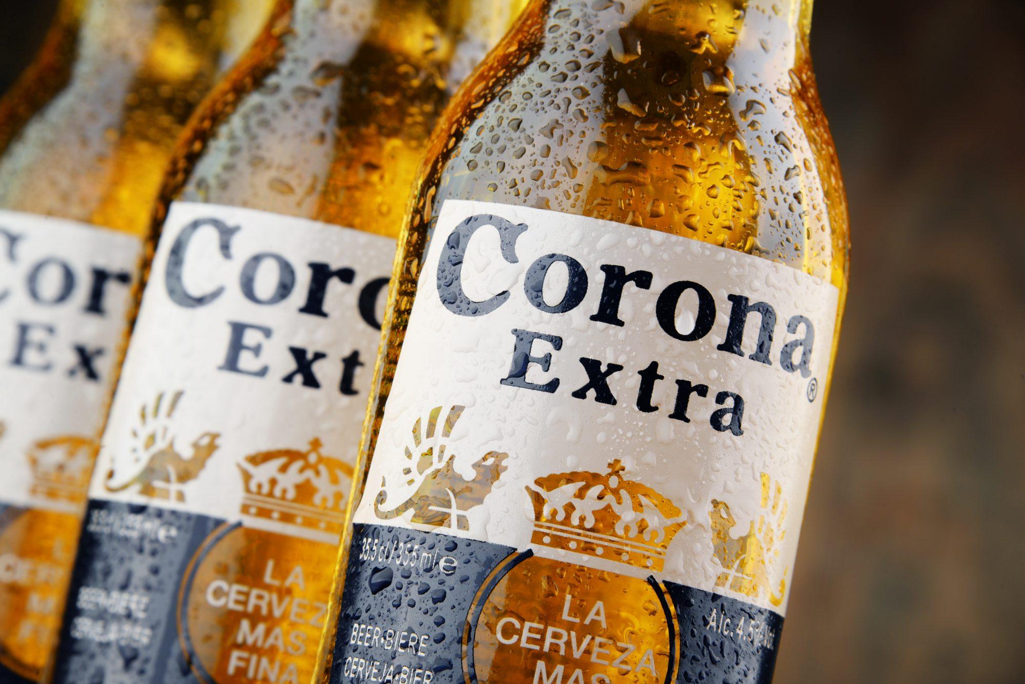 Corona cerveza