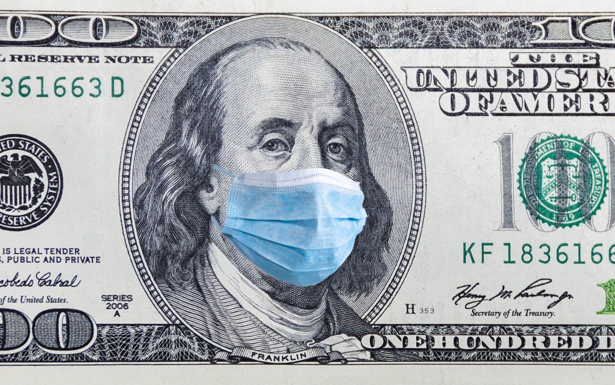 Dinero, coronavirus