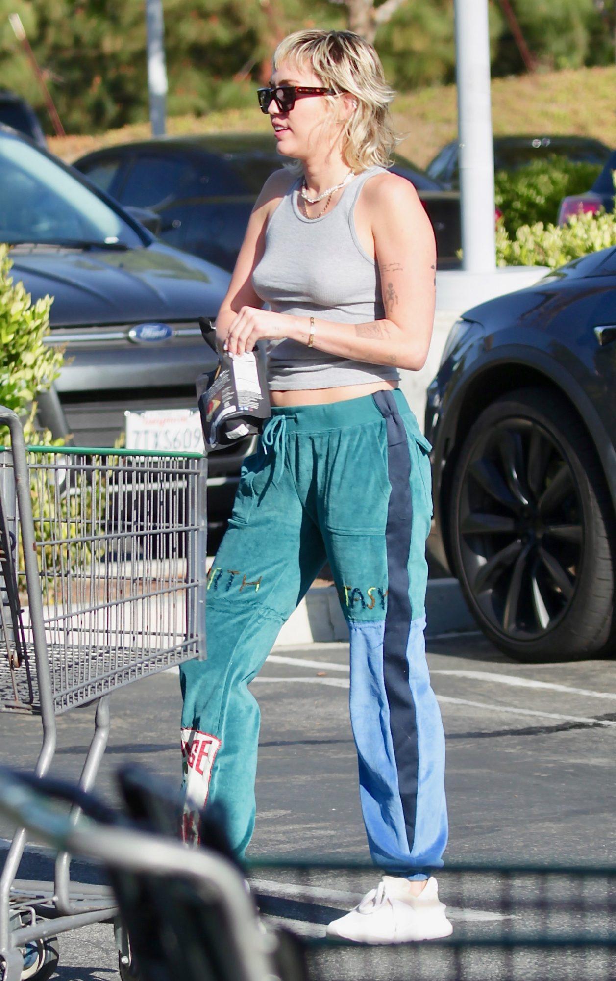 Miley Cyrus, look, cuarentena, los angeles