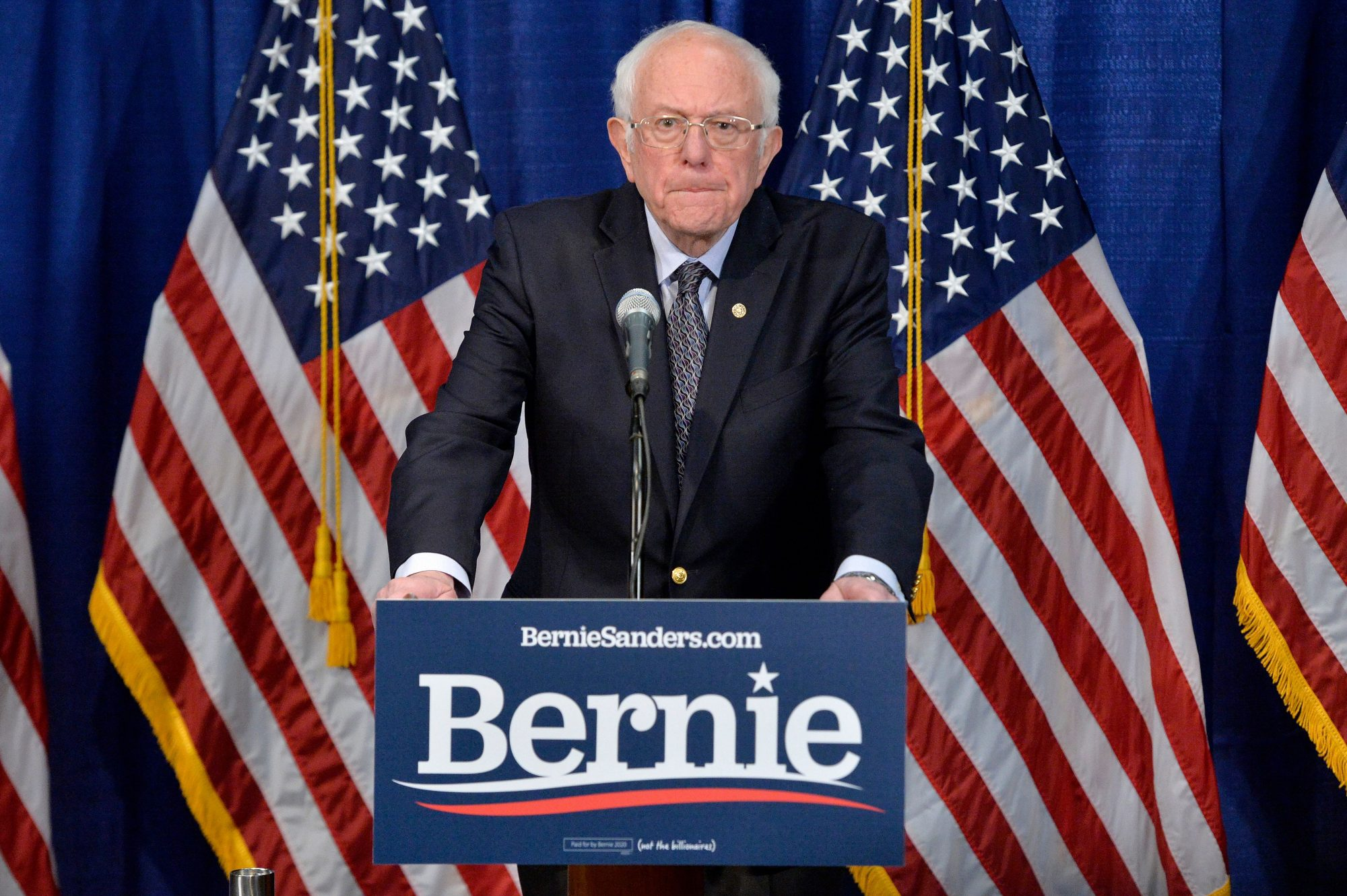 Bernie Sanders Drops Out of Presidential Race