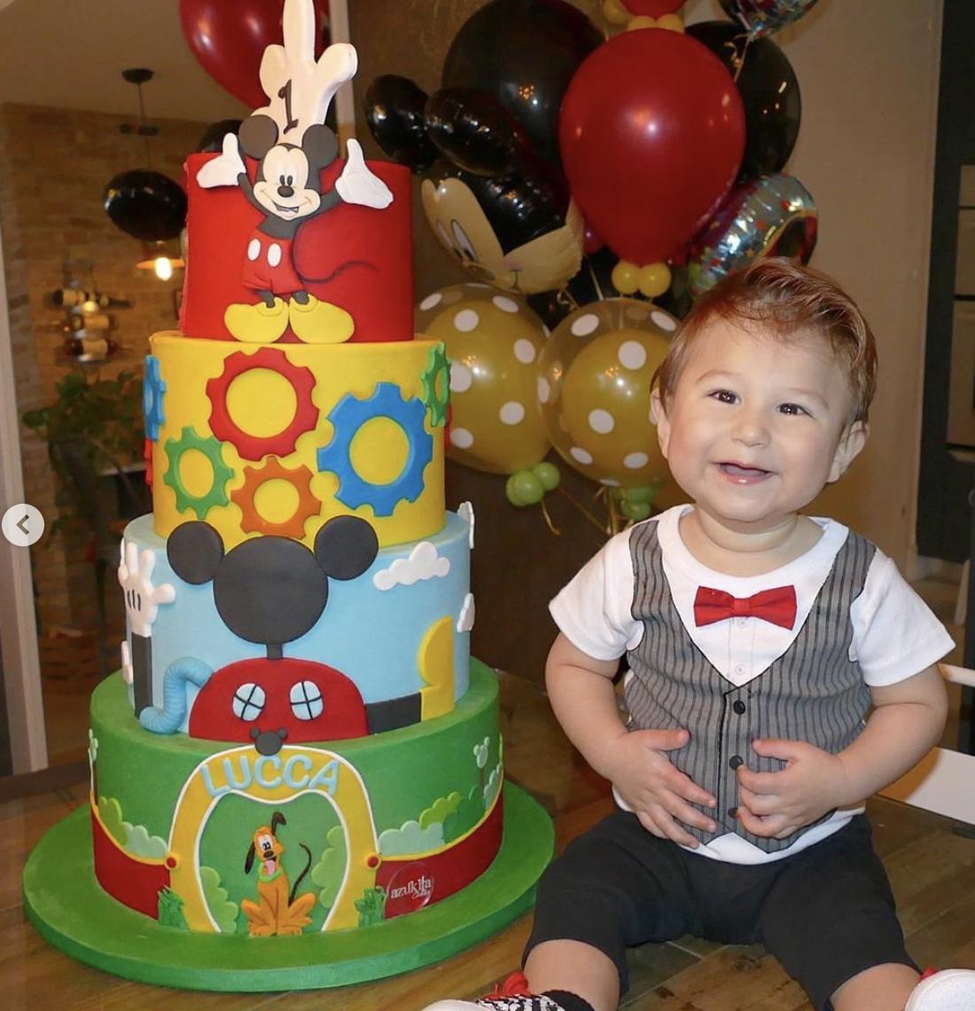 El cumpleaños de Luccaa